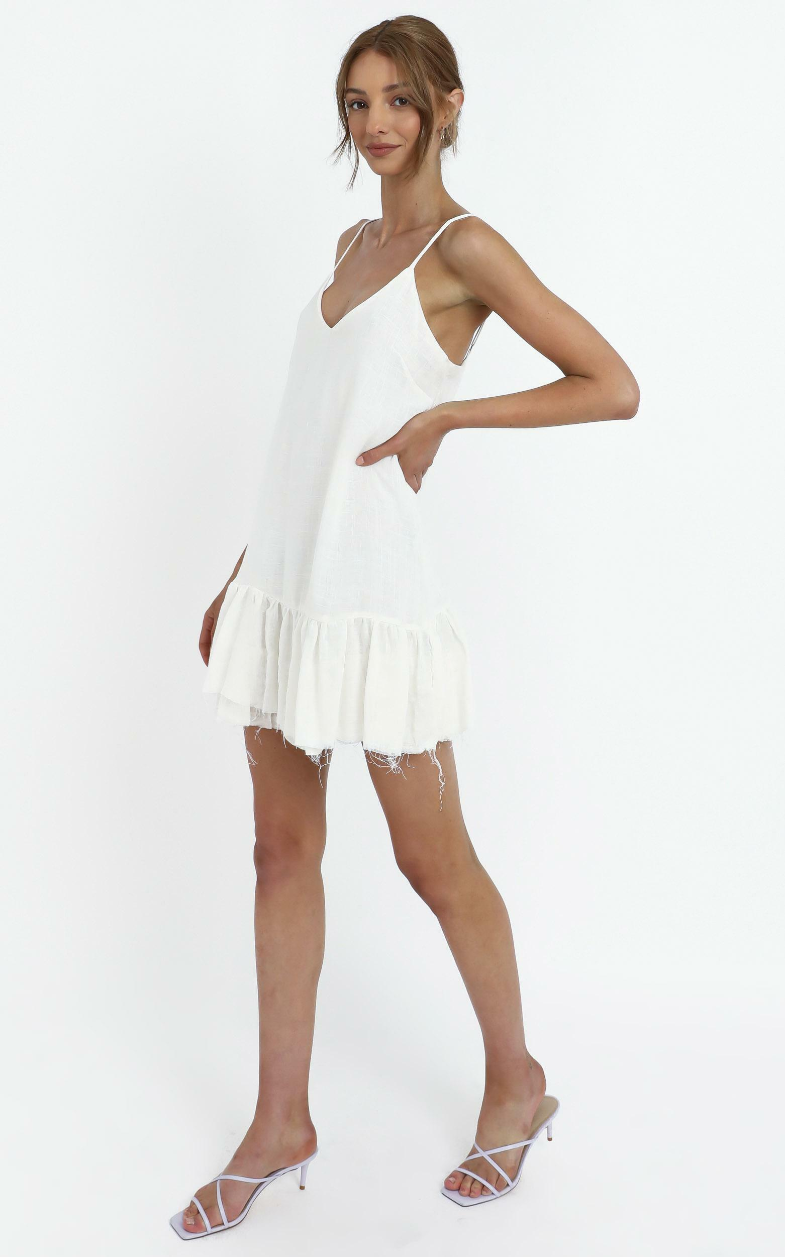 Gypsy Dress in White - 12 (L), WHT1, hi-res image number null