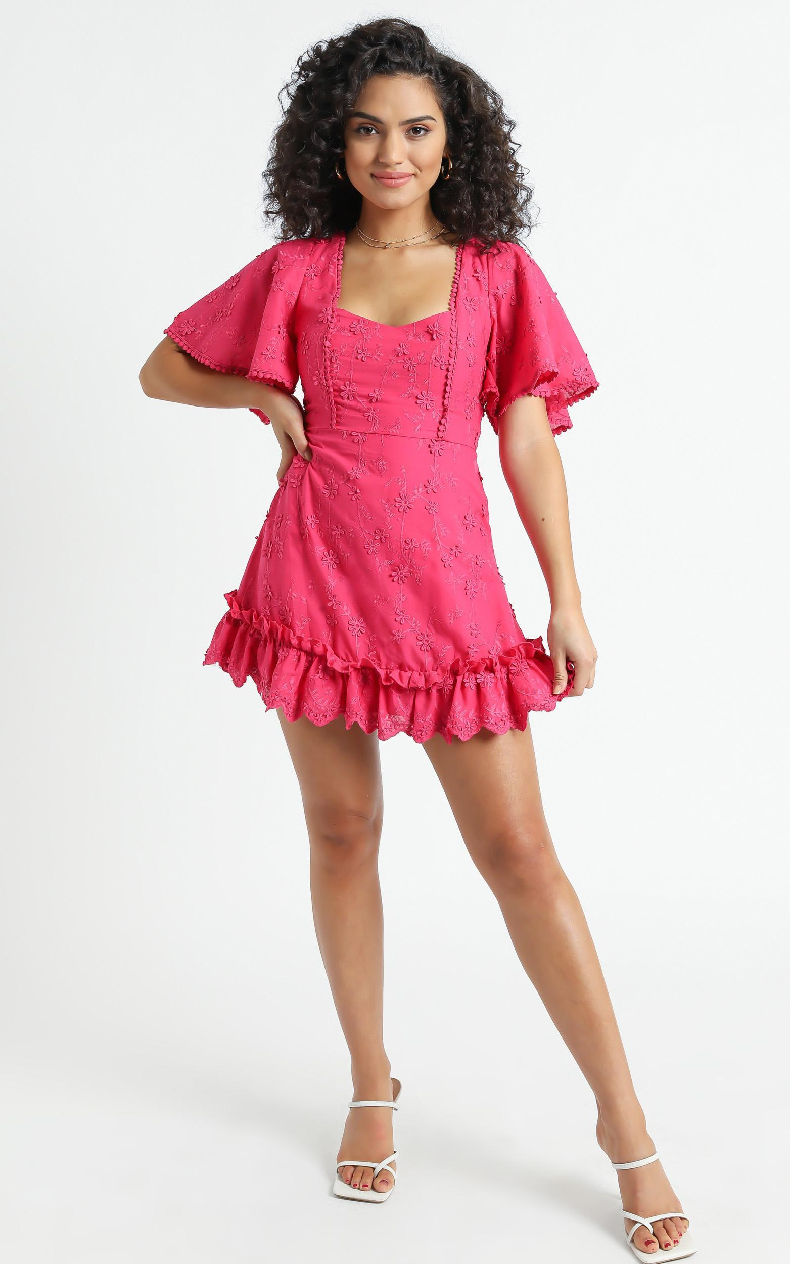 Fancy A Spritz Dress in  Hot Pink - 4 (XXS), PNK11, hi-res image number null