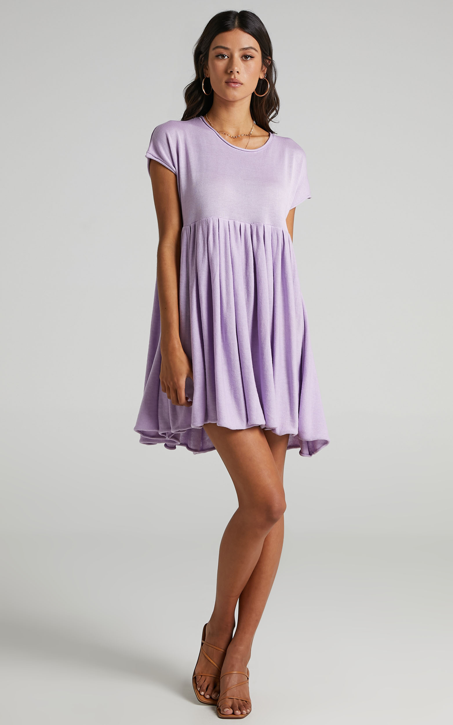 Embry Knit Dress in Lilac - 06, PRP2, hi-res image number null