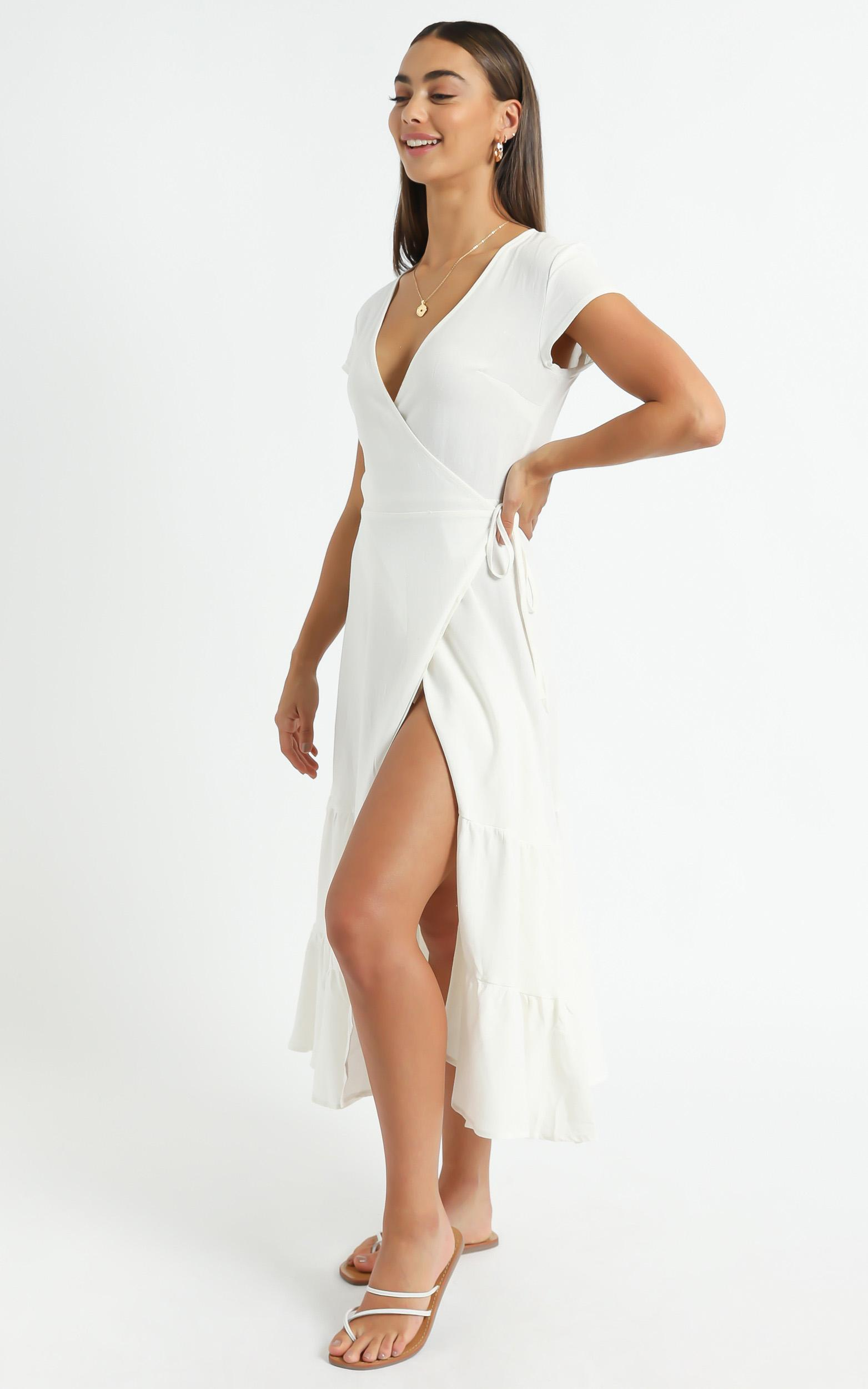 Maddilyn Dress in White - 6 (XS), White, hi-res image number null