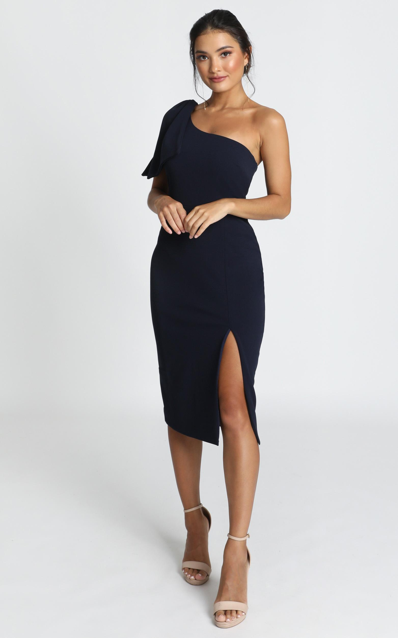 I Got A Feeling Dress in navy - 20 (XXXXL), Navy, hi-res image number null
