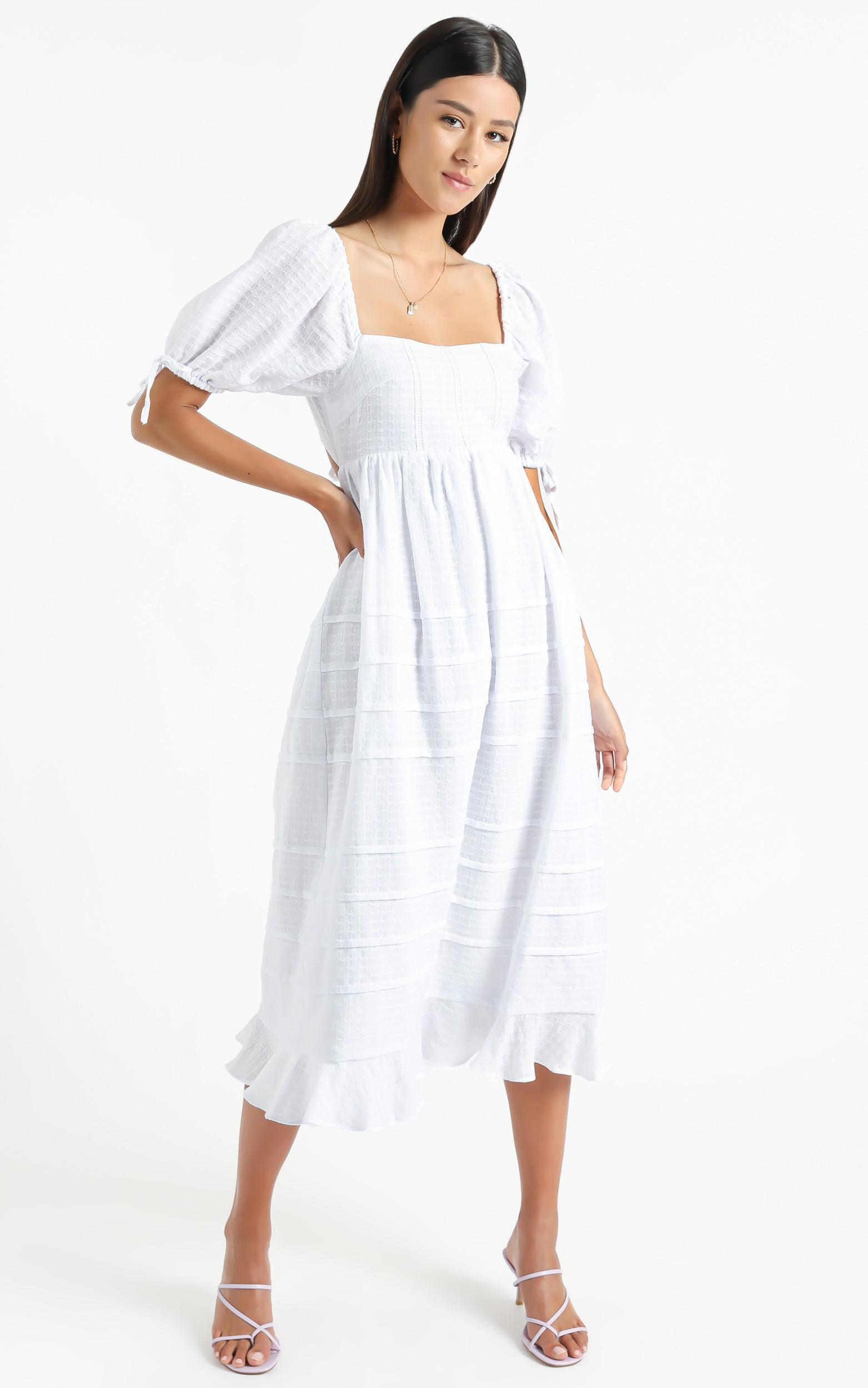 Electra Dress in White - 6 (XS), White, hi-res image number null