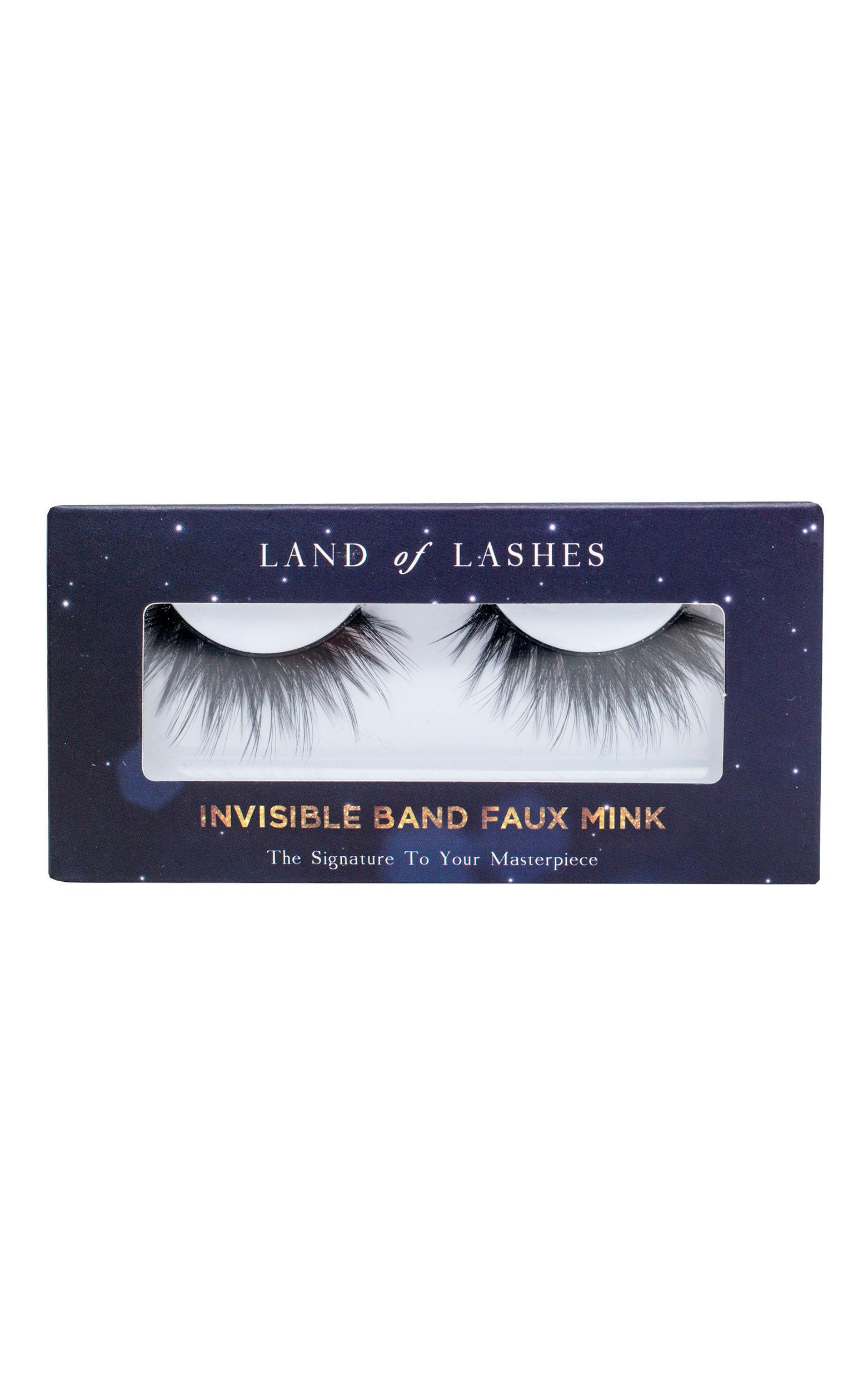 Land of Lashes - Invisible Band Faux Mink In Meghan, Black, hi-res image number null