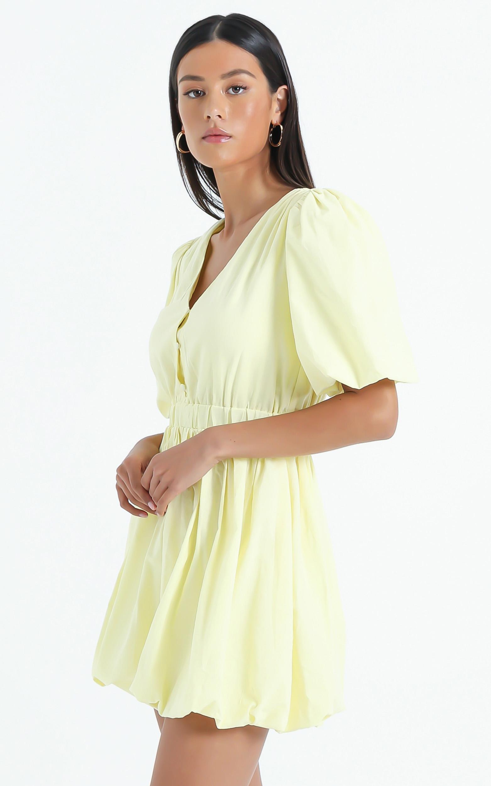 Blathnaid Dress in Lemon - 6 (XS), YEL6, hi-res image number null