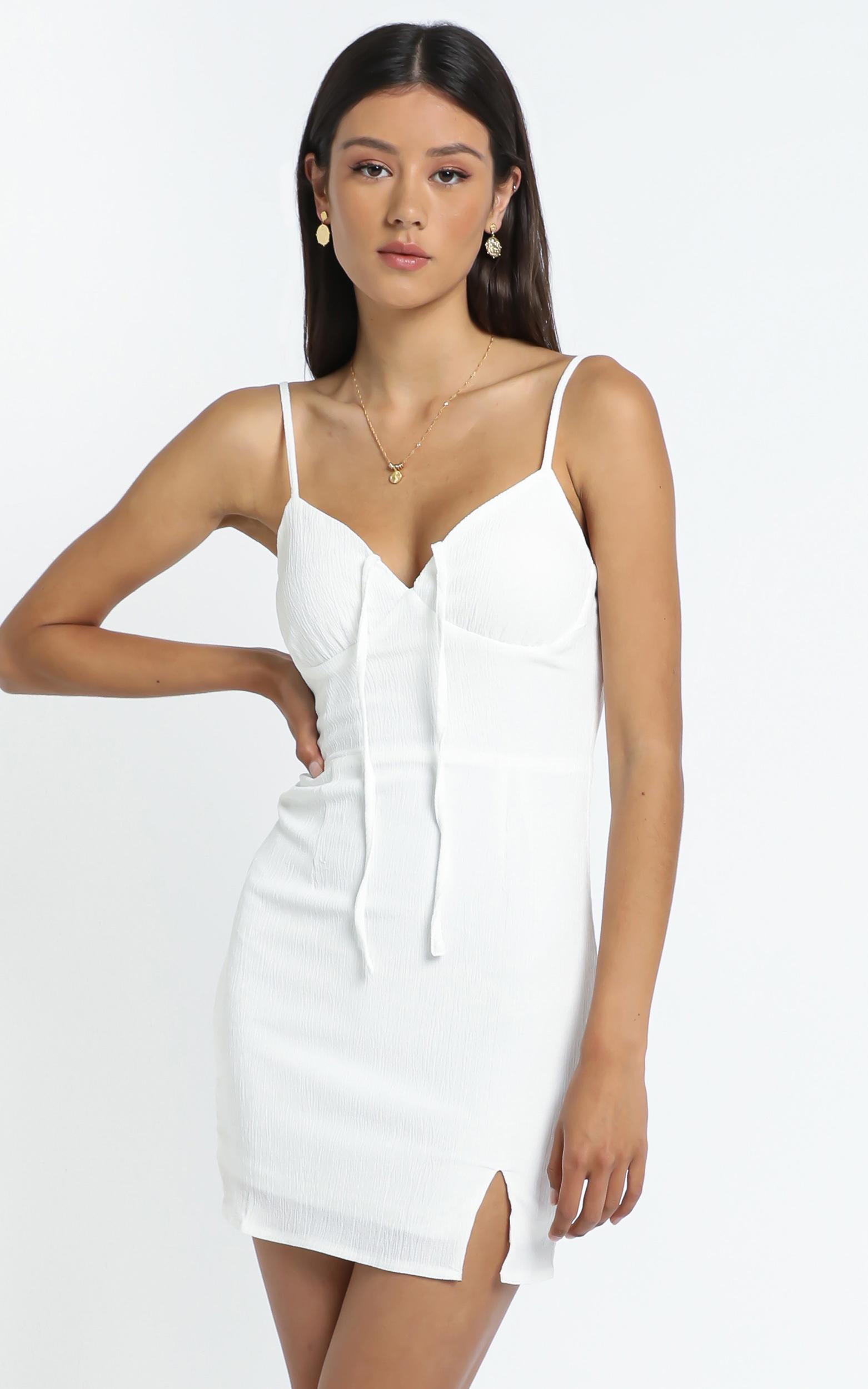 Ryder Dress in White - 12 (L), White, hi-res image number null