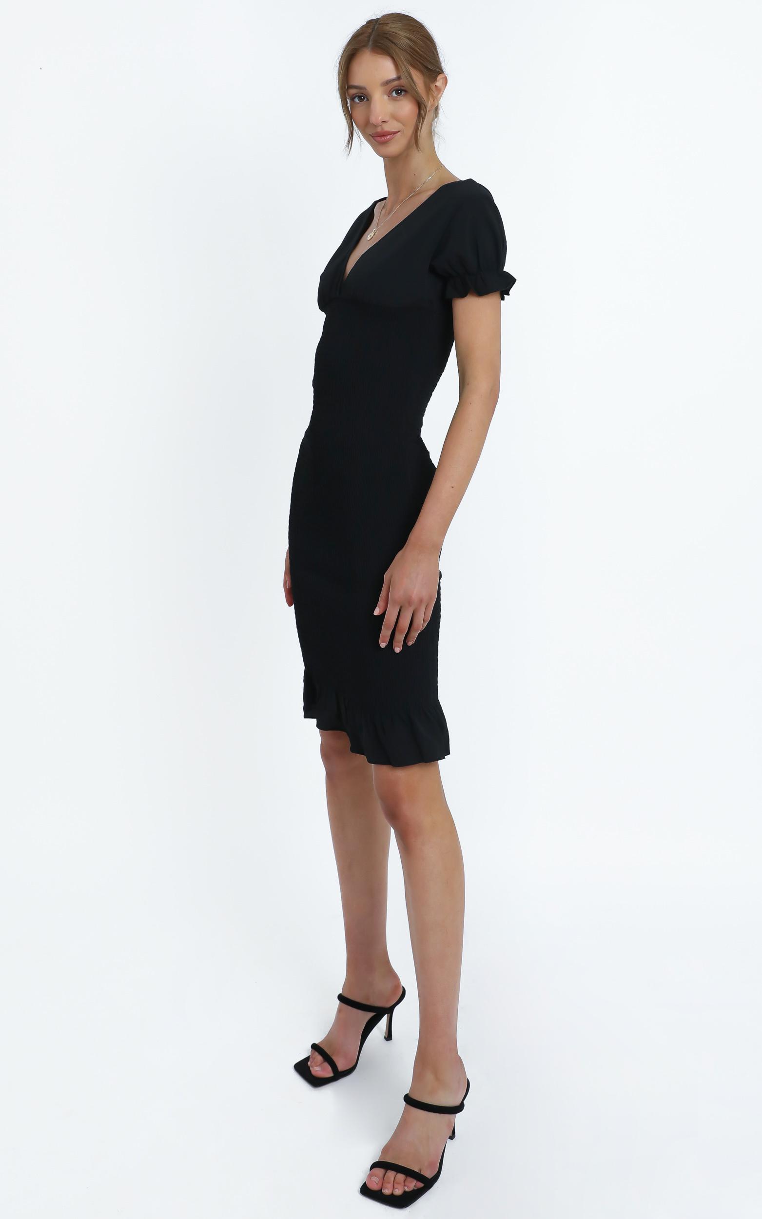 Robin Dress in Black - 12 (L), Black, hi-res image number null