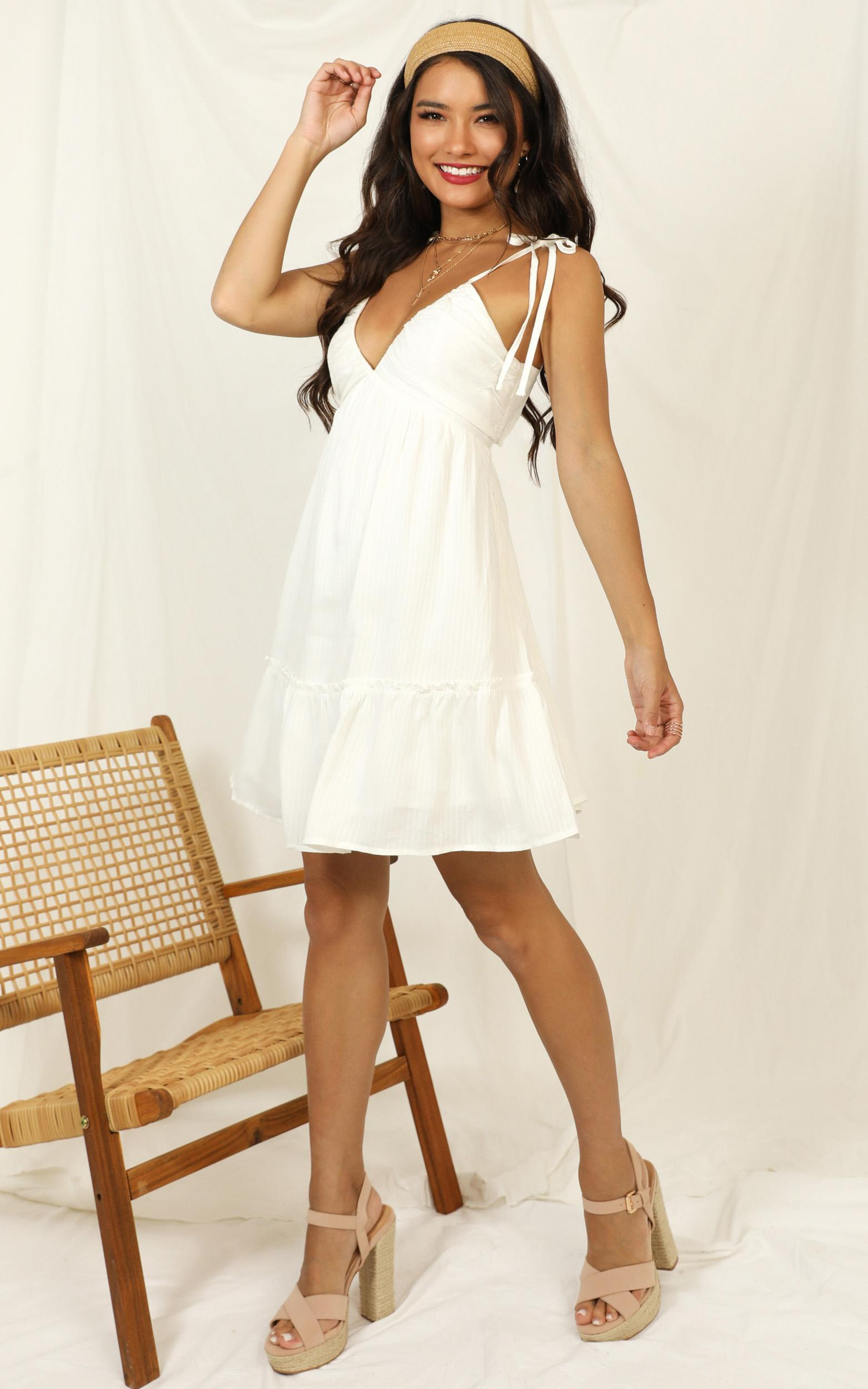 Cant Control This dress in white - 12 (L), White, hi-res image number null