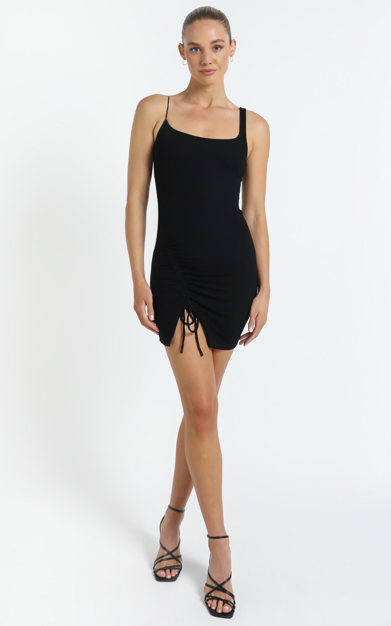 Rayna Dress in Black - 12 (L), Black, hi-res image number null