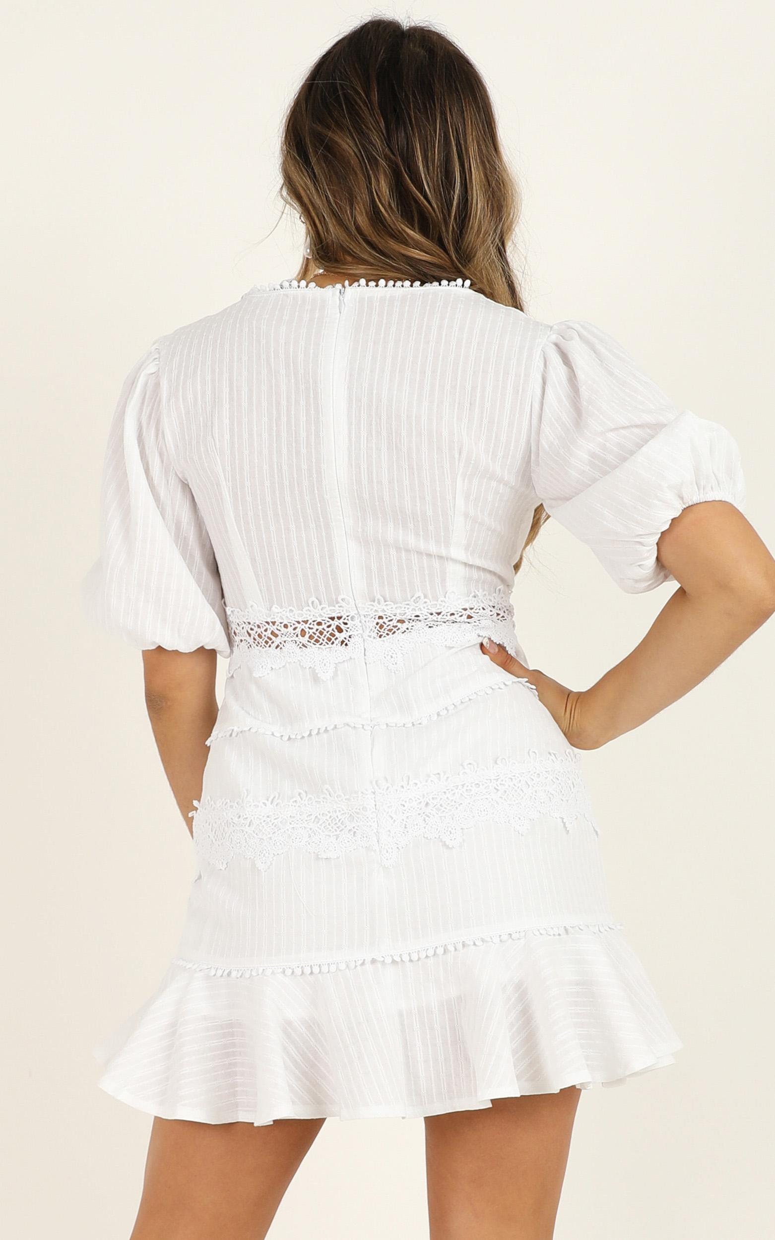 Grand Gesture dress in white - 14 (XL), White, hi-res image number null