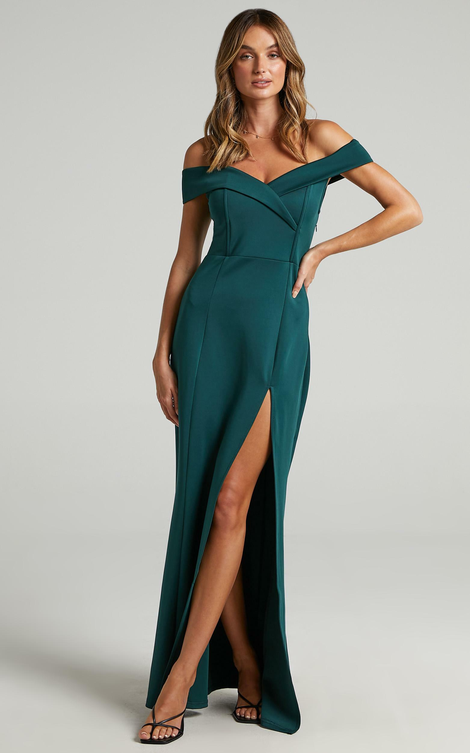 One For The Money dress in emerald - 20 (XXXXL), GRN7, hi-res image number null