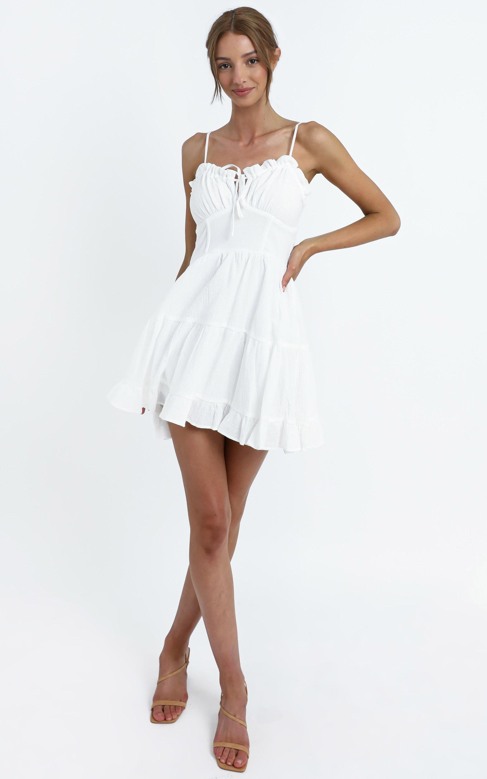 Abigail Dress in White - 12 (L), WHT1, hi-res image number null