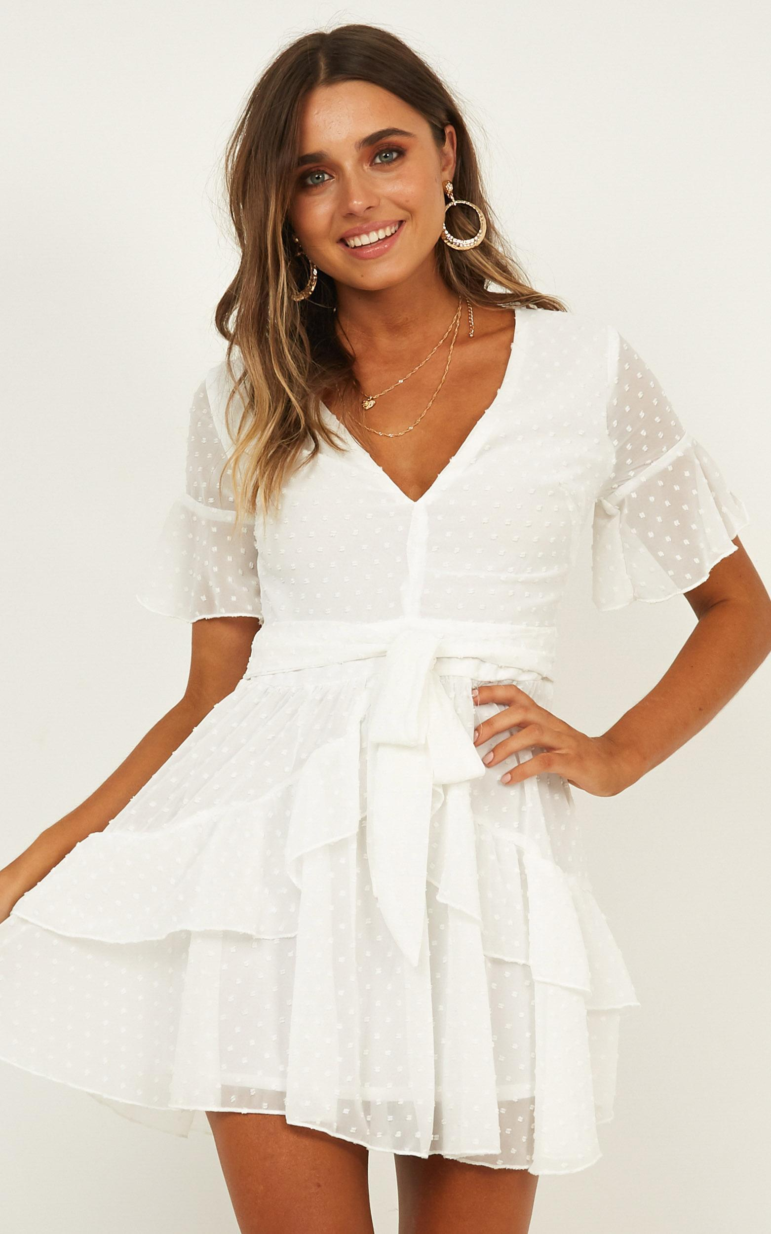 Know What You Want Dress in white - 20 (XXXXL), White, hi-res image number null