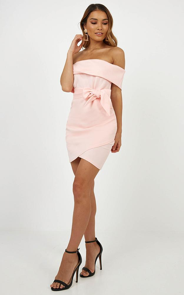 Look To The Future dress in blush - 14 (XL), Blush, hi-res image number null