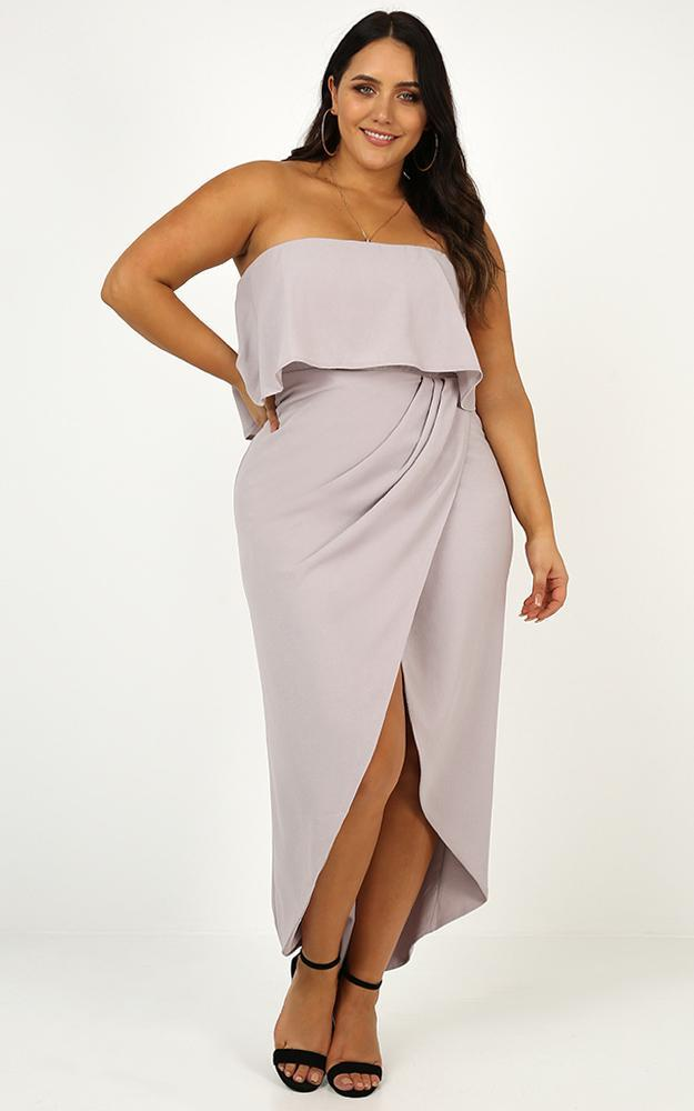 With Flying Colours dress in grey - 14 (XL), Grey, hi-res image number null