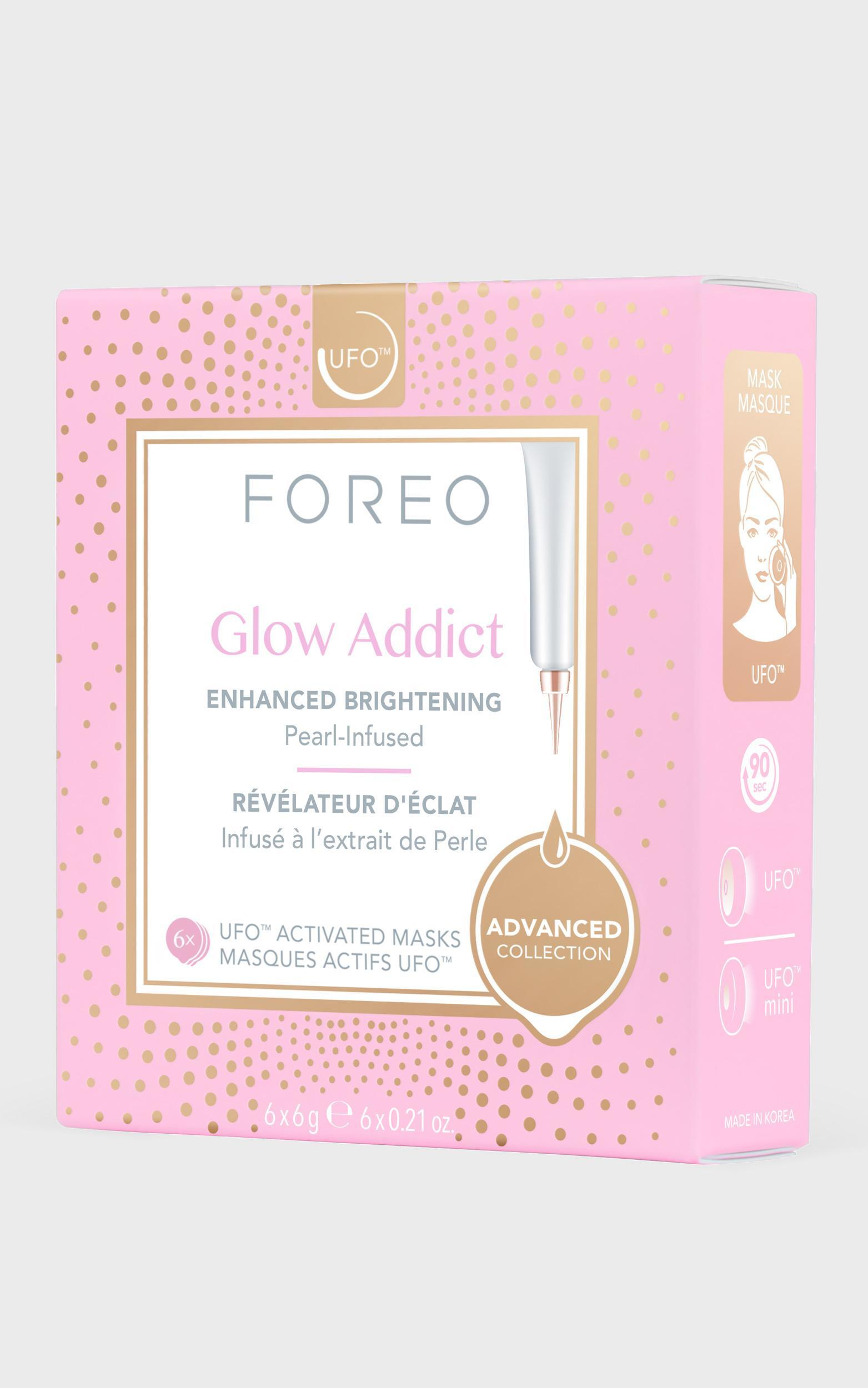 Foreo - UFO Masks Glow Addict - Pack of 6 , , hi-res image number null