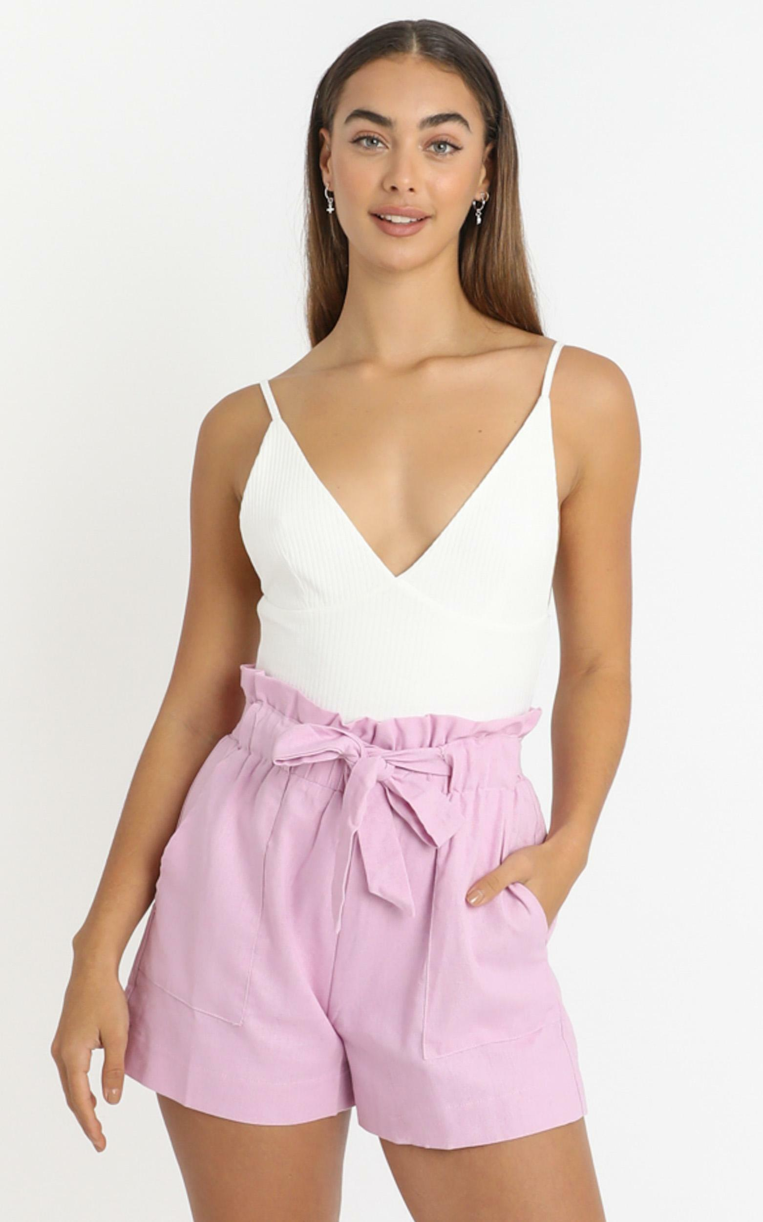 All Rounder Short in lilac - 6 (XS), PRL1, hi-res image number null