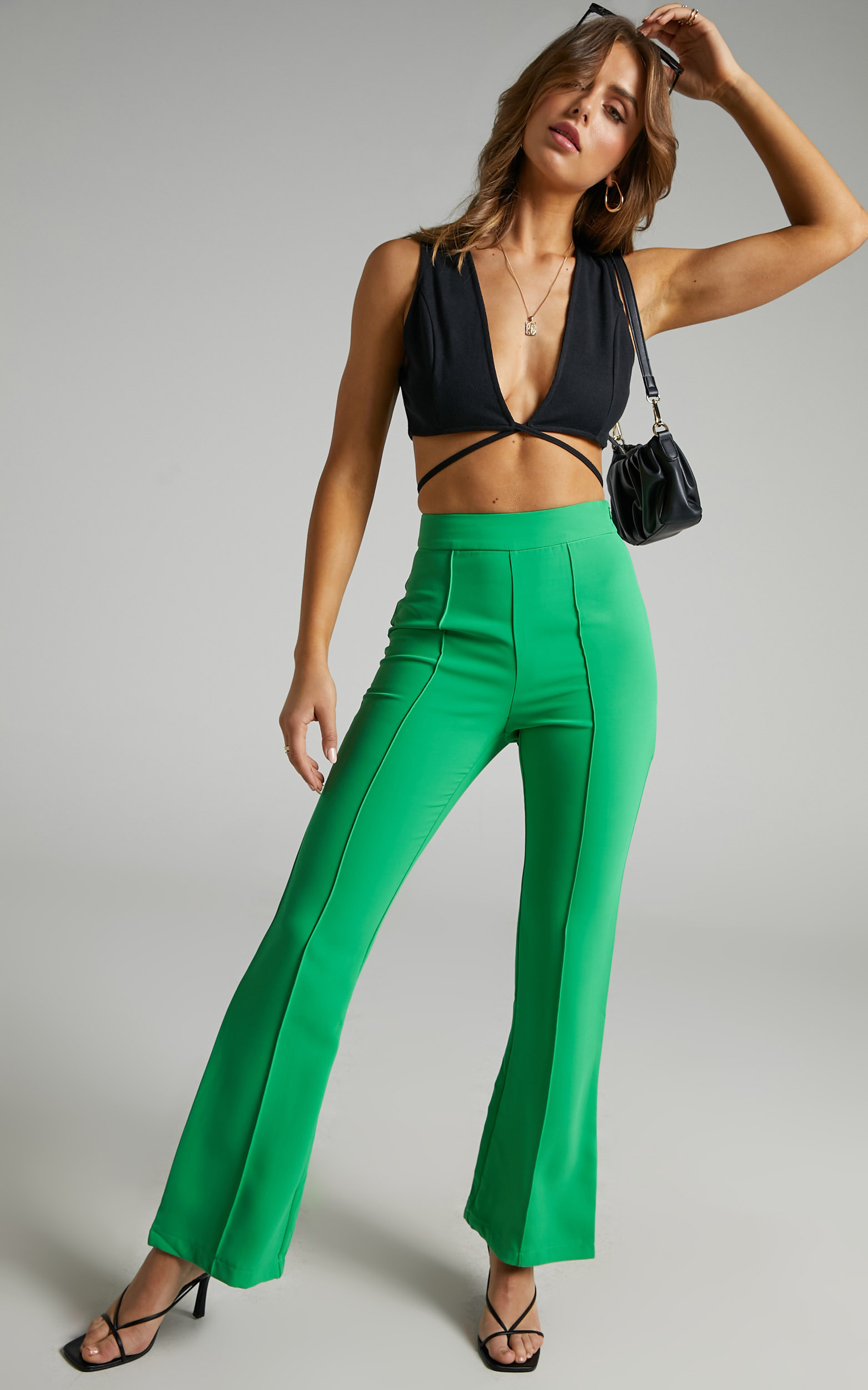 Jessa Pants in Green - 06, GRN1, hi-res image number null