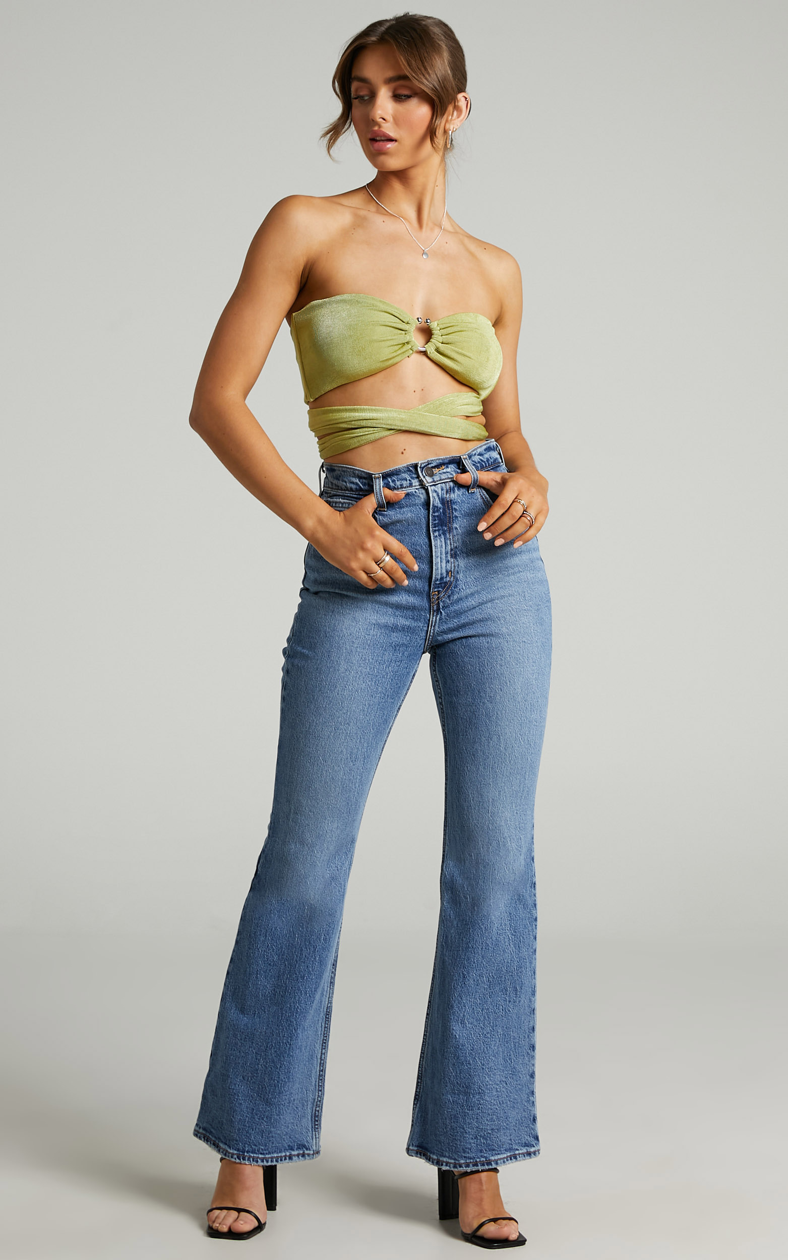 Levis - 70s High Flare Jean in Sonoma Walks - 06, BLU1, hi-res image number null