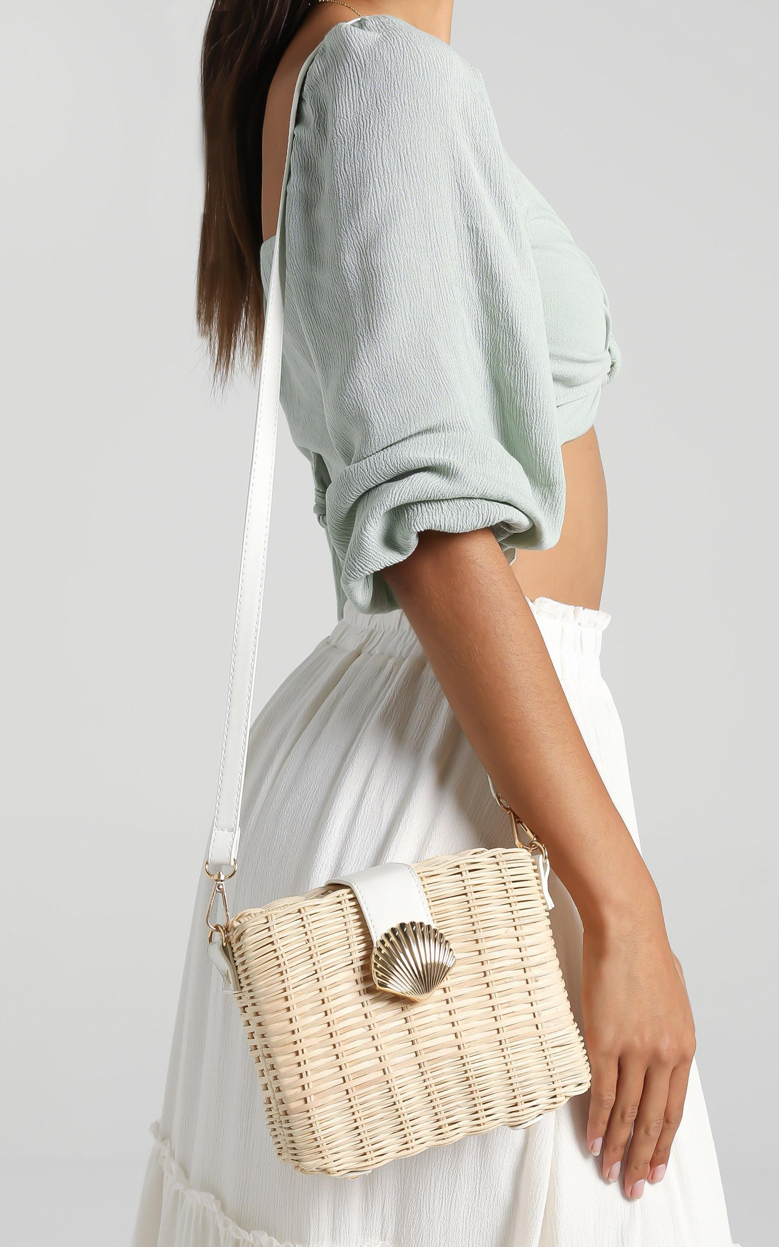 Geovana Bag in Straw, , hi-res image number null