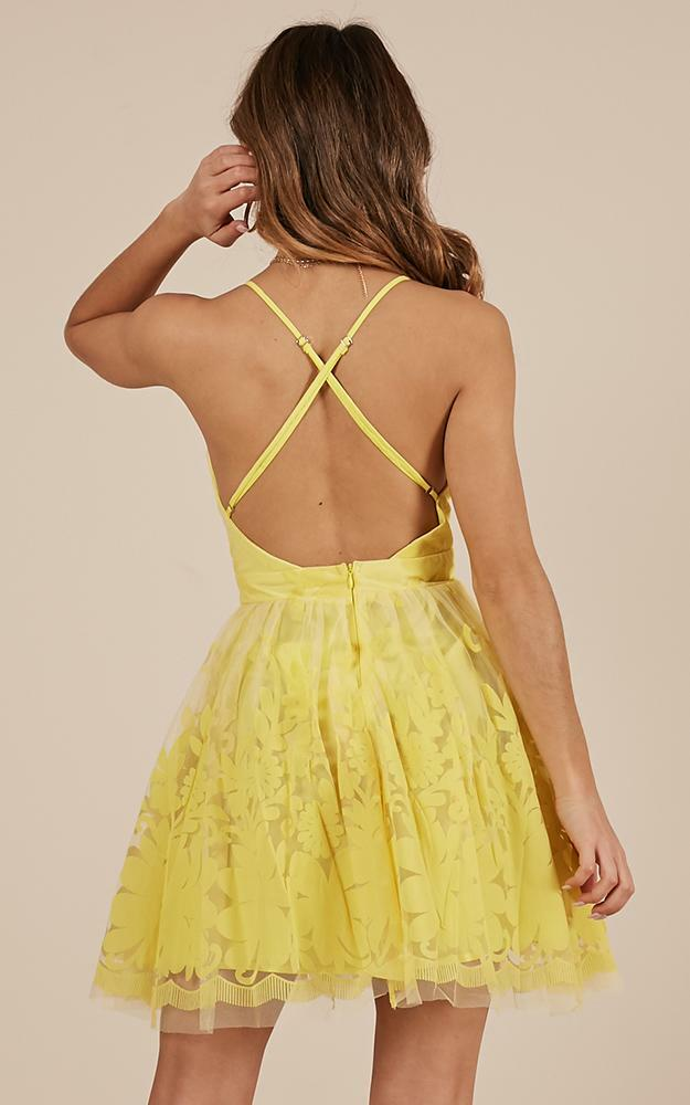 Moon Beam dress in yellow - 8 (S), Yellow, hi-res image number null