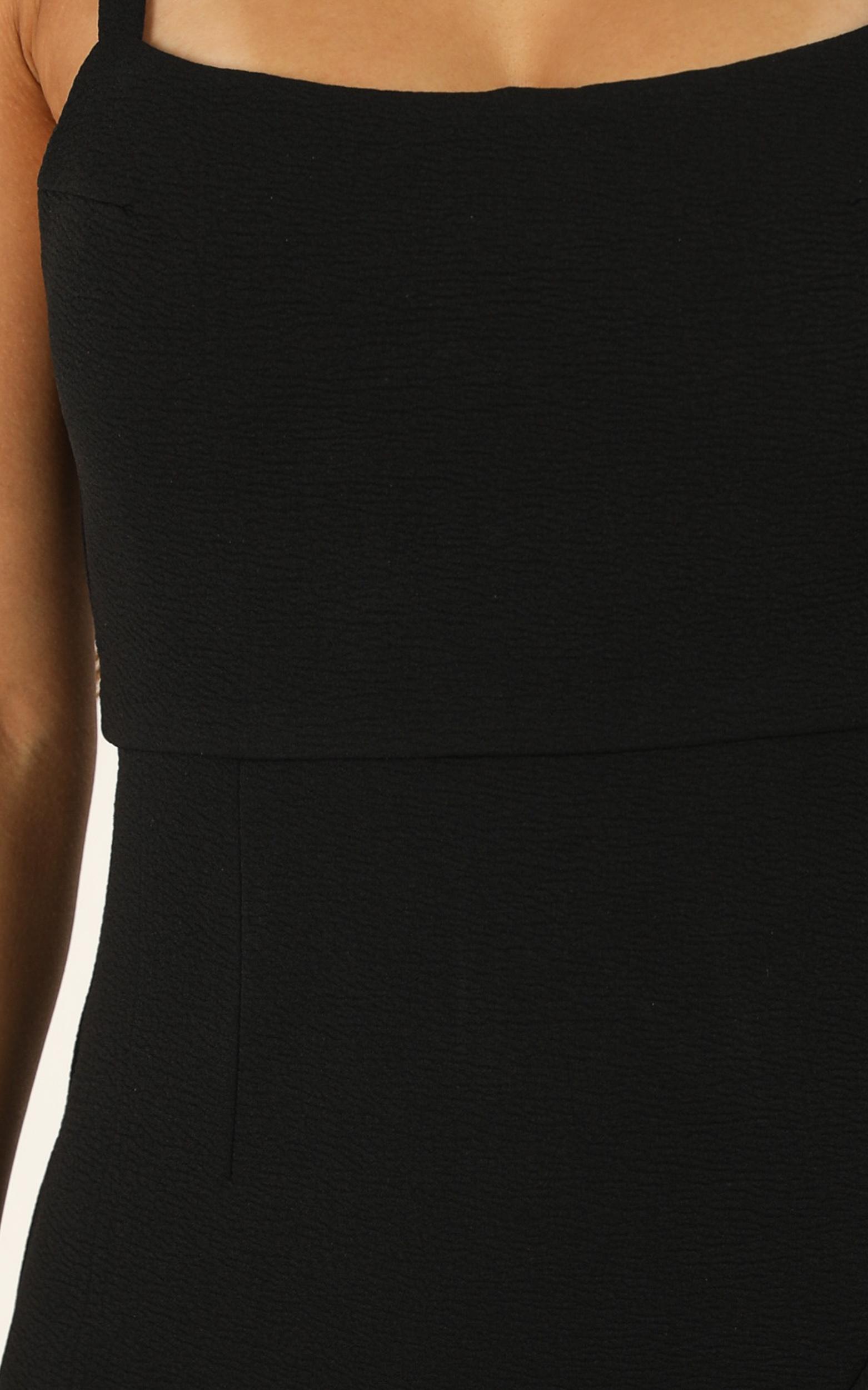 Change Your Thoughts dress in black - 12 (L), Black, hi-res image number null