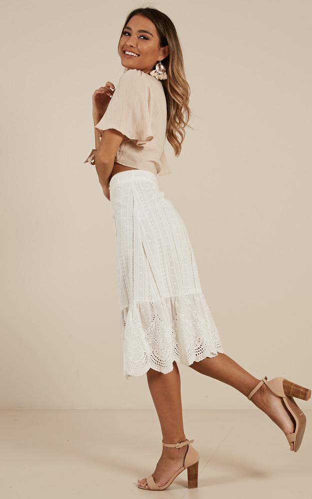 Restless Heart skirt in white - 12 (L), White, hi-res image number null