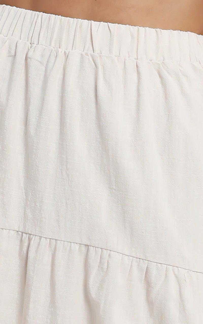 Bohan Skirt in Cream - 16 (XXL), Cream, hi-res image number null