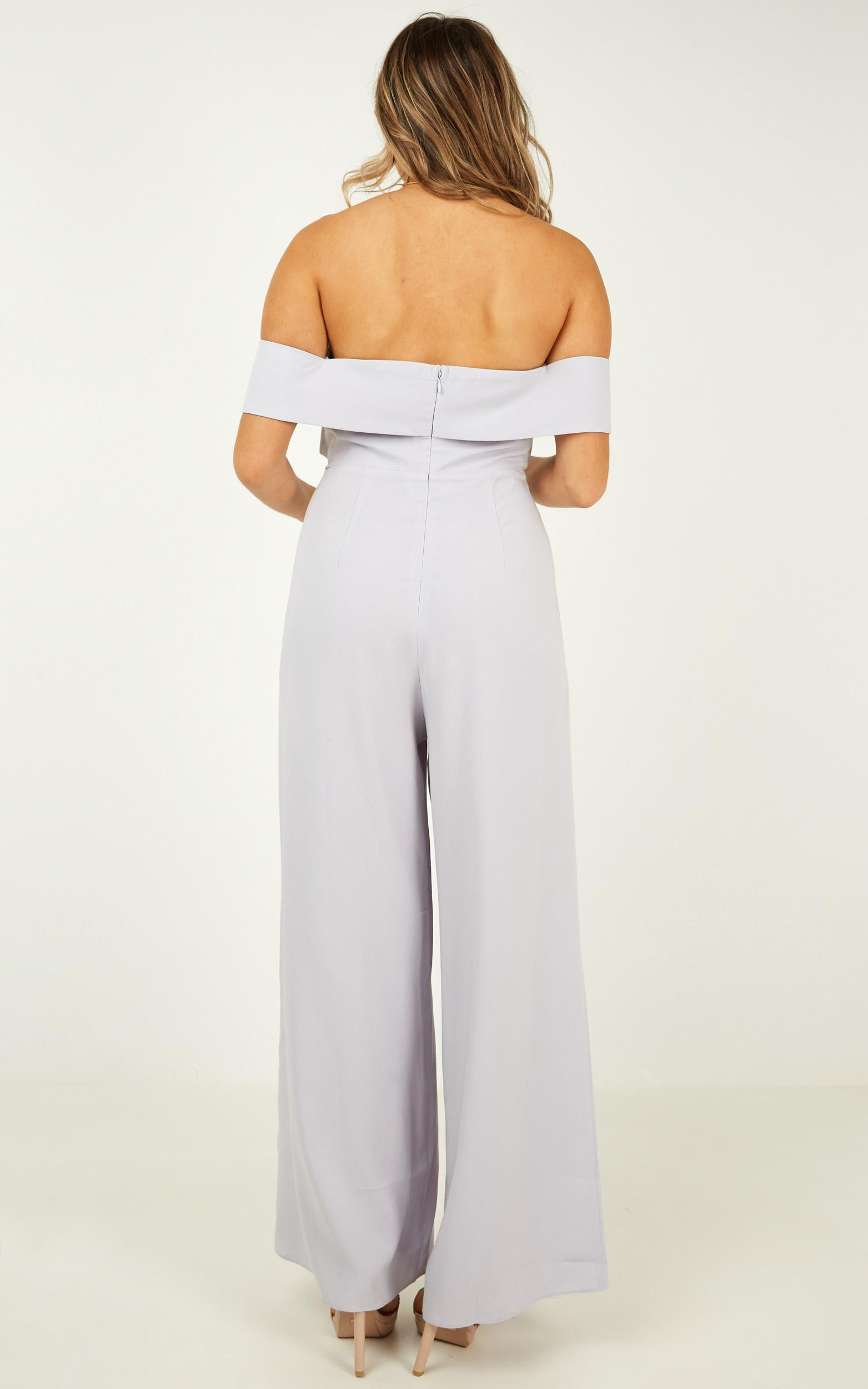 Right Behind You jumpsuit in light blue - 12 (L), Blue, hi-res image number null