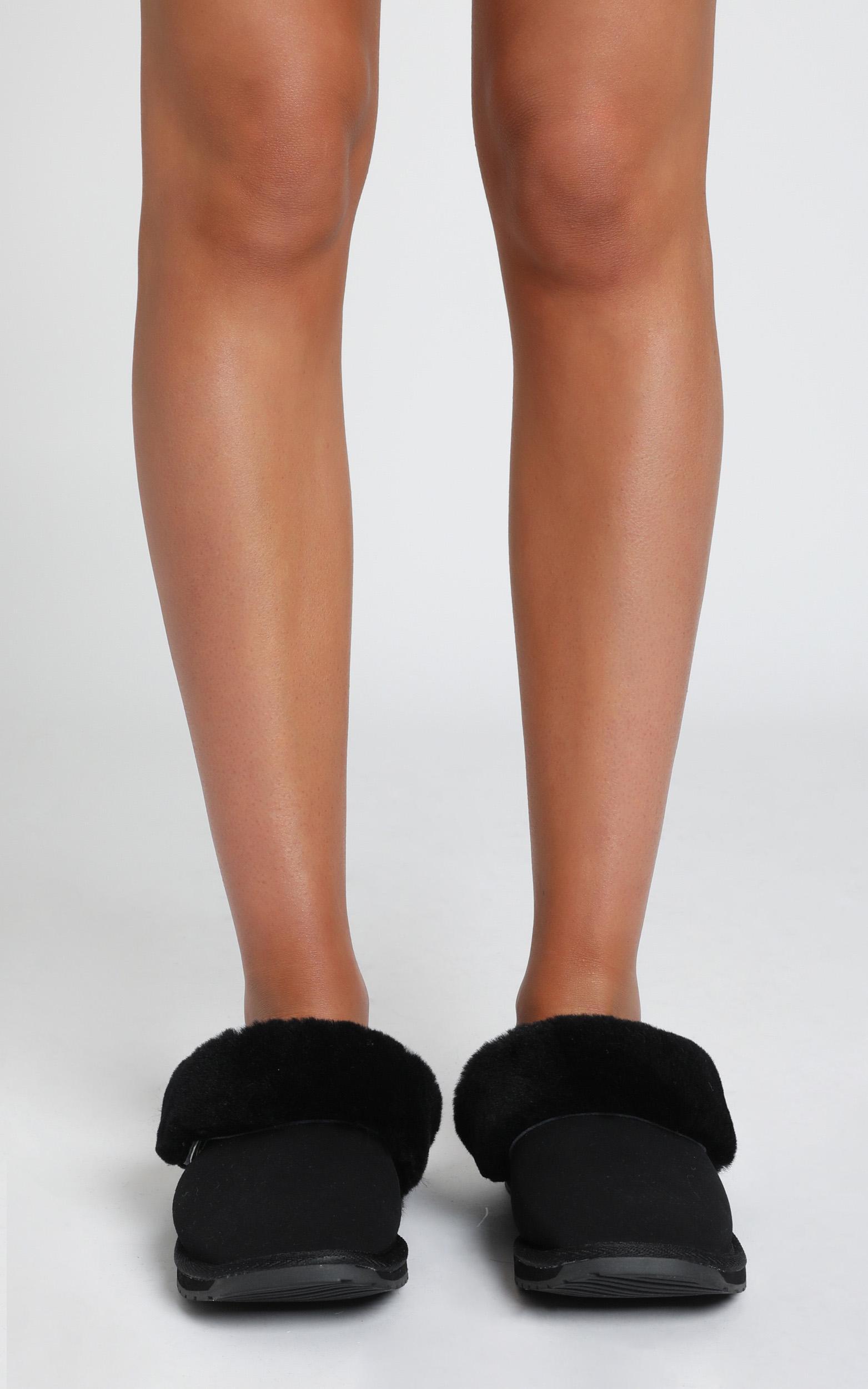 EMU Australia - Platinum Eden Slippers in Black - 5, Black, hi-res image number null