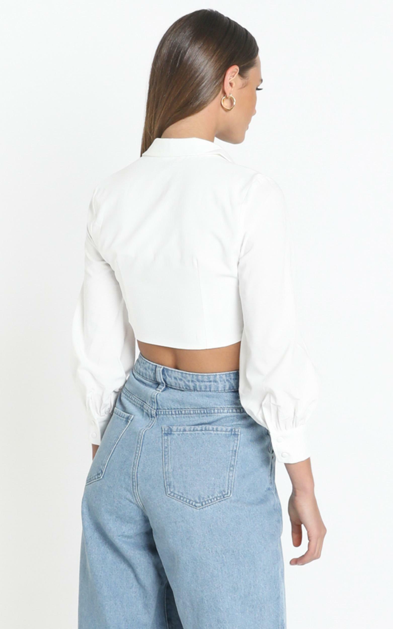 Shura Shirt in White - 12 (L), White, hi-res image number null