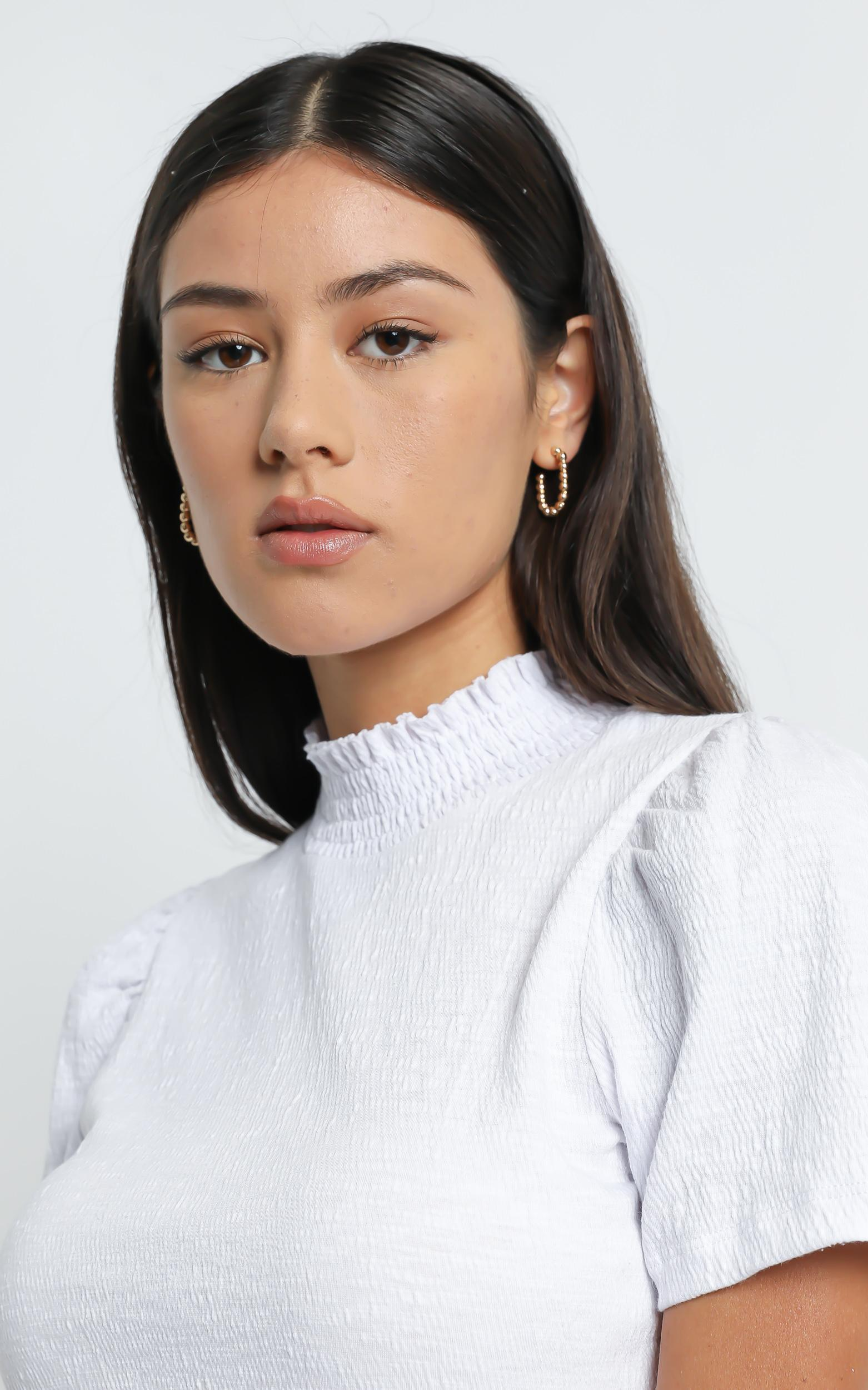 Laisha Top in White - 6 (XS), White, hi-res image number null