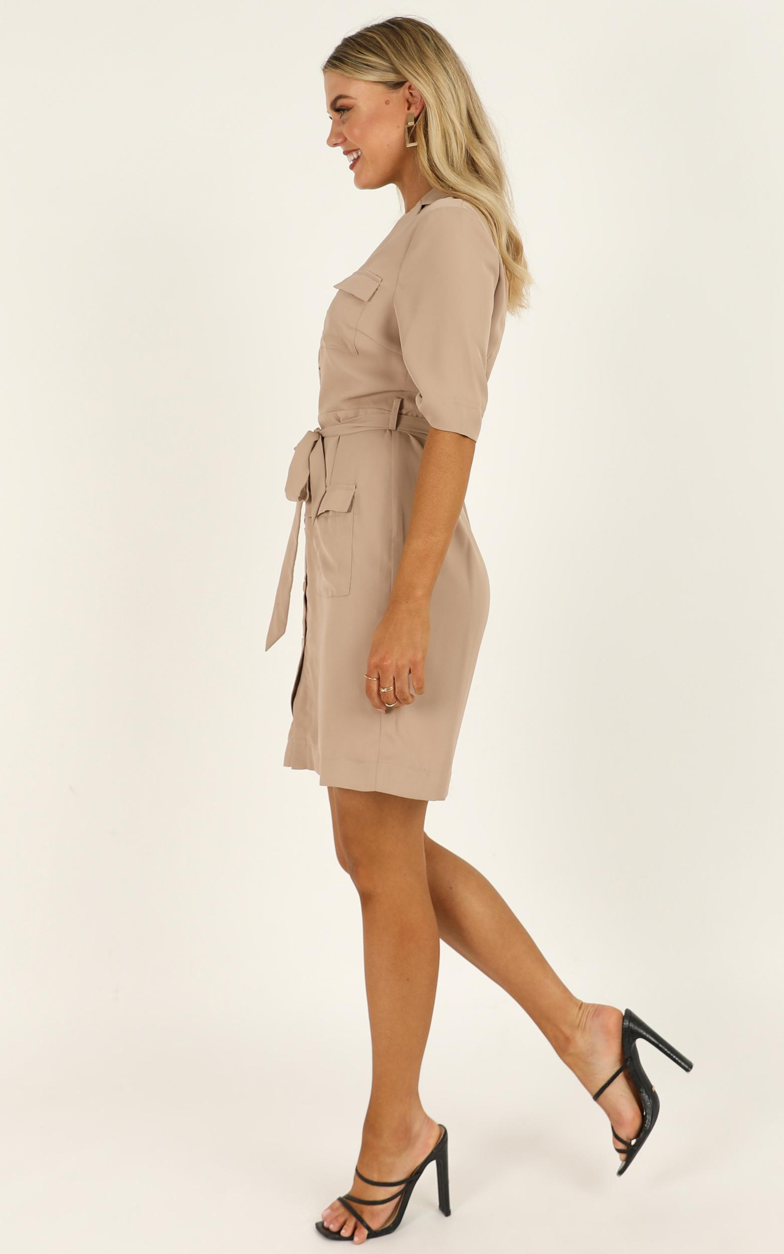 Business As Usual dress in camel - 20 (XXXXL), Camel, hi-res image number null