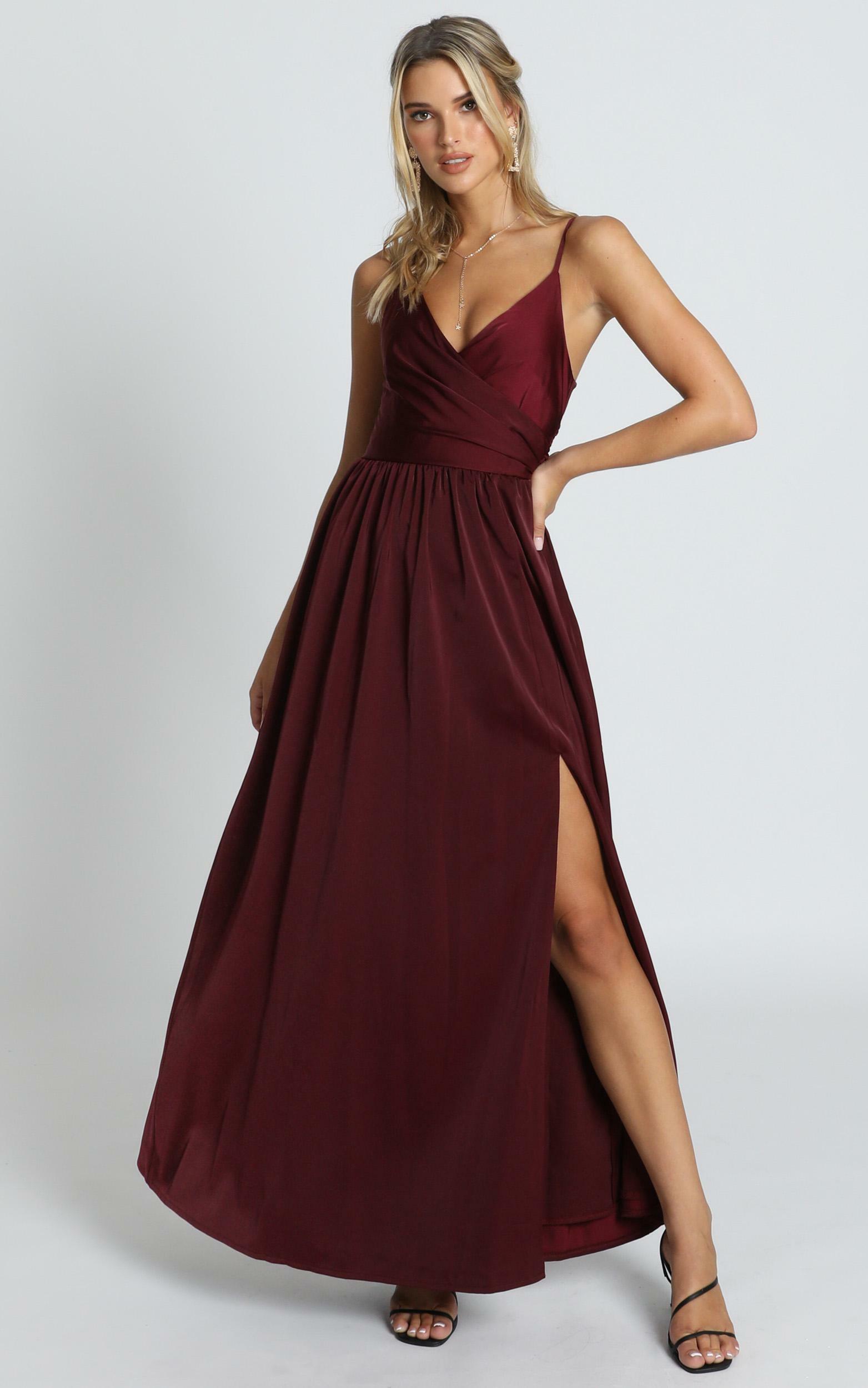 Revolve Around Me Dress in wine - 20 (XXXXL), Wine, hi-res image number null