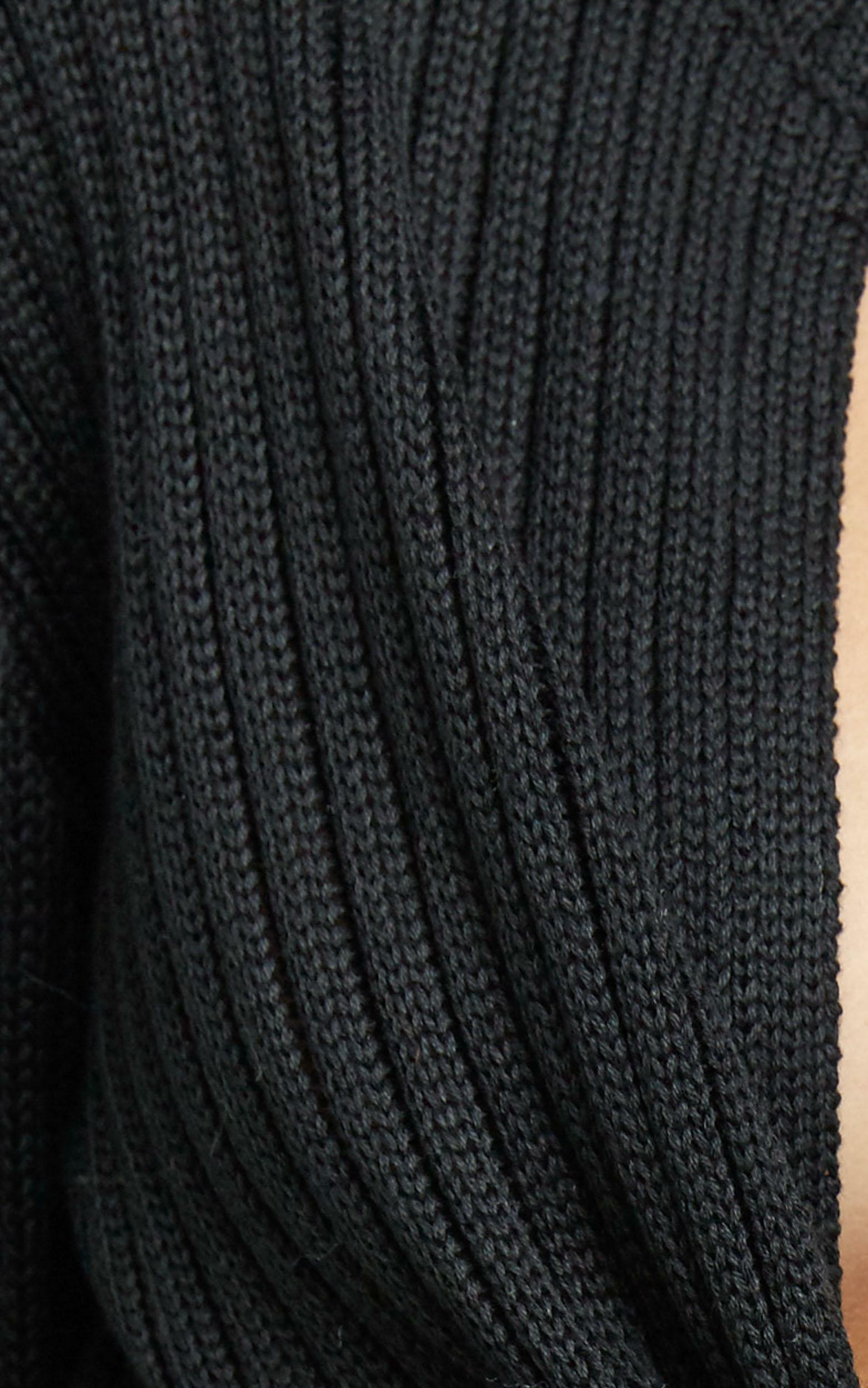 Leandra Knit Top in Black, BLK1, hi-res image number null