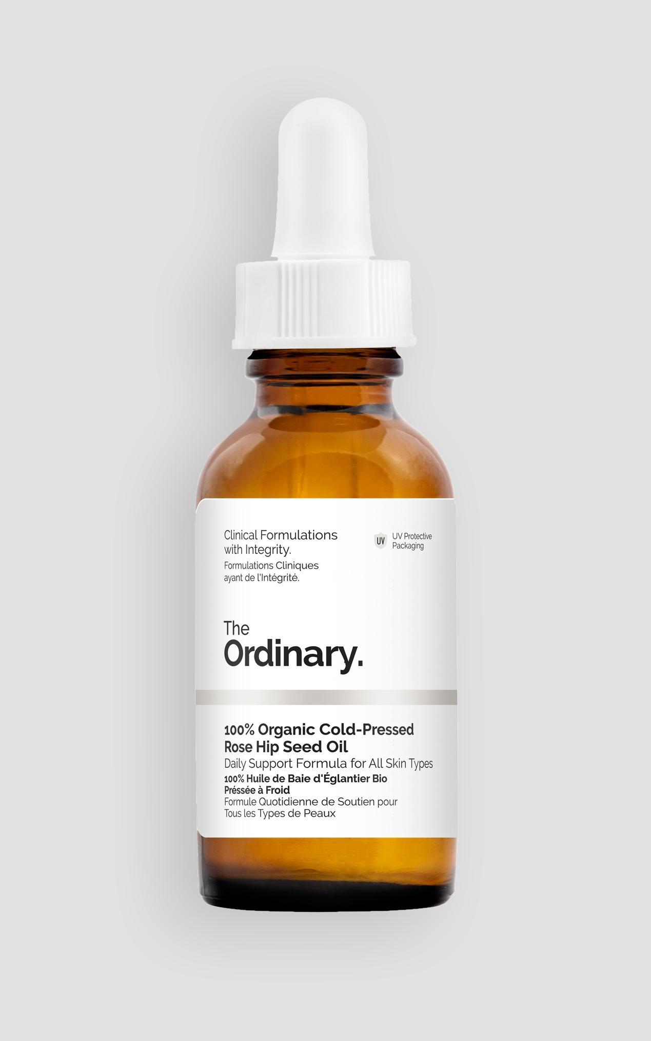 The Ordinary - 100% Organic Cold-Pressed Rose Hip Seed Oil - 30ml , Grey, hi-res image number null