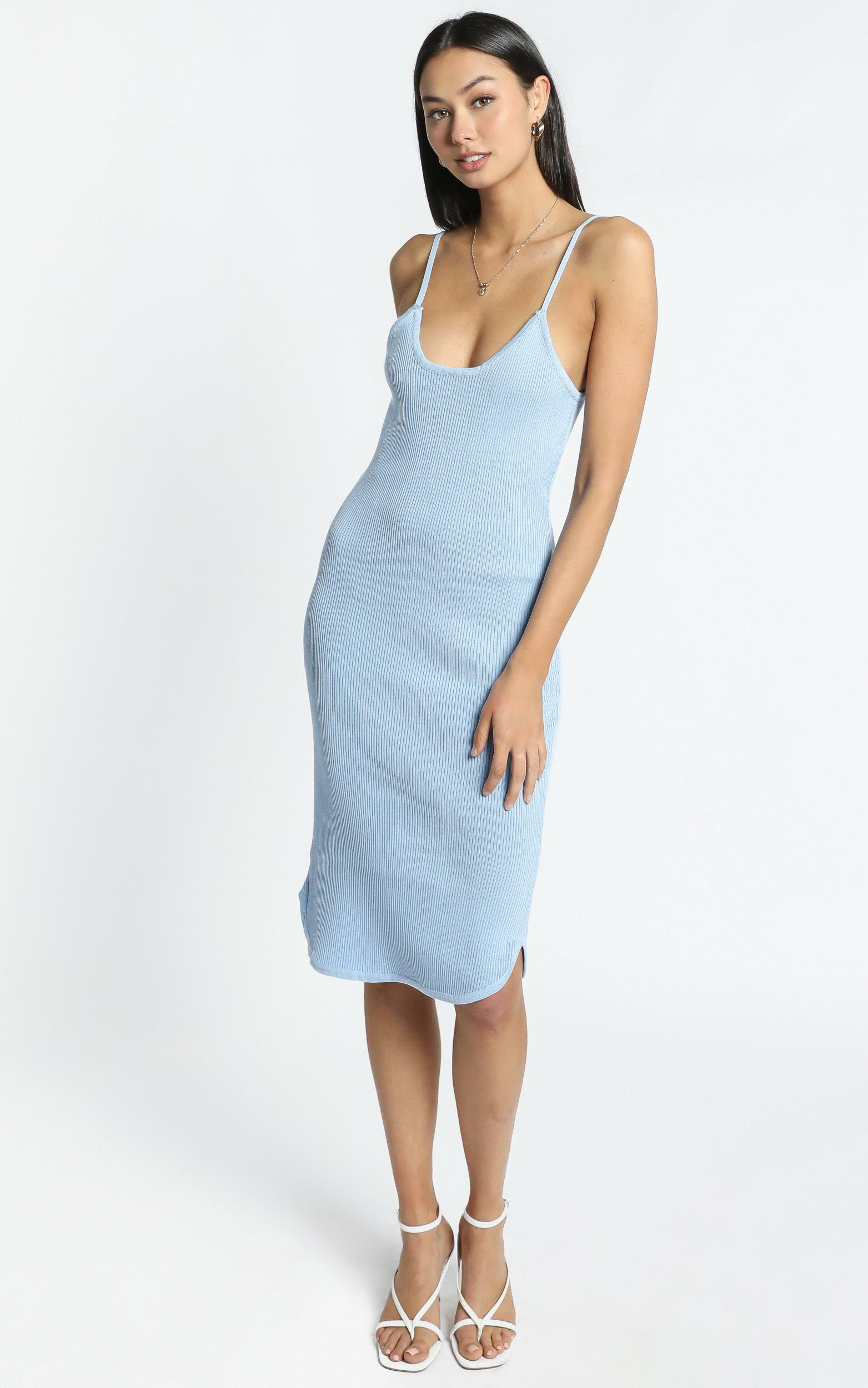 Holly Dress in blue - XS/S, Blue, hi-res image number null