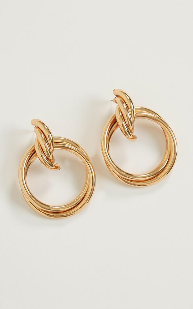 Pretty Life Earrings In Gold, , hi-res image number null