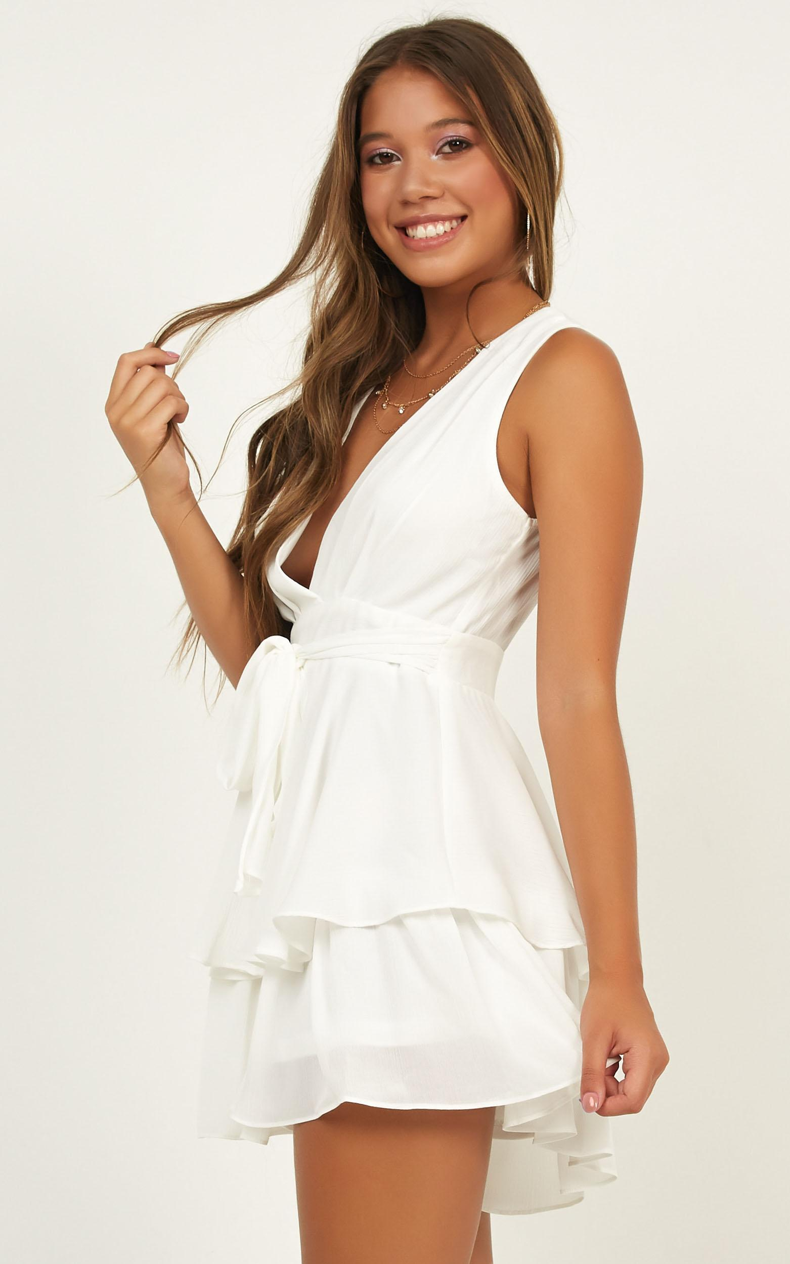 Brave Heart playsuit in white - 14 (XL), White, hi-res image number null