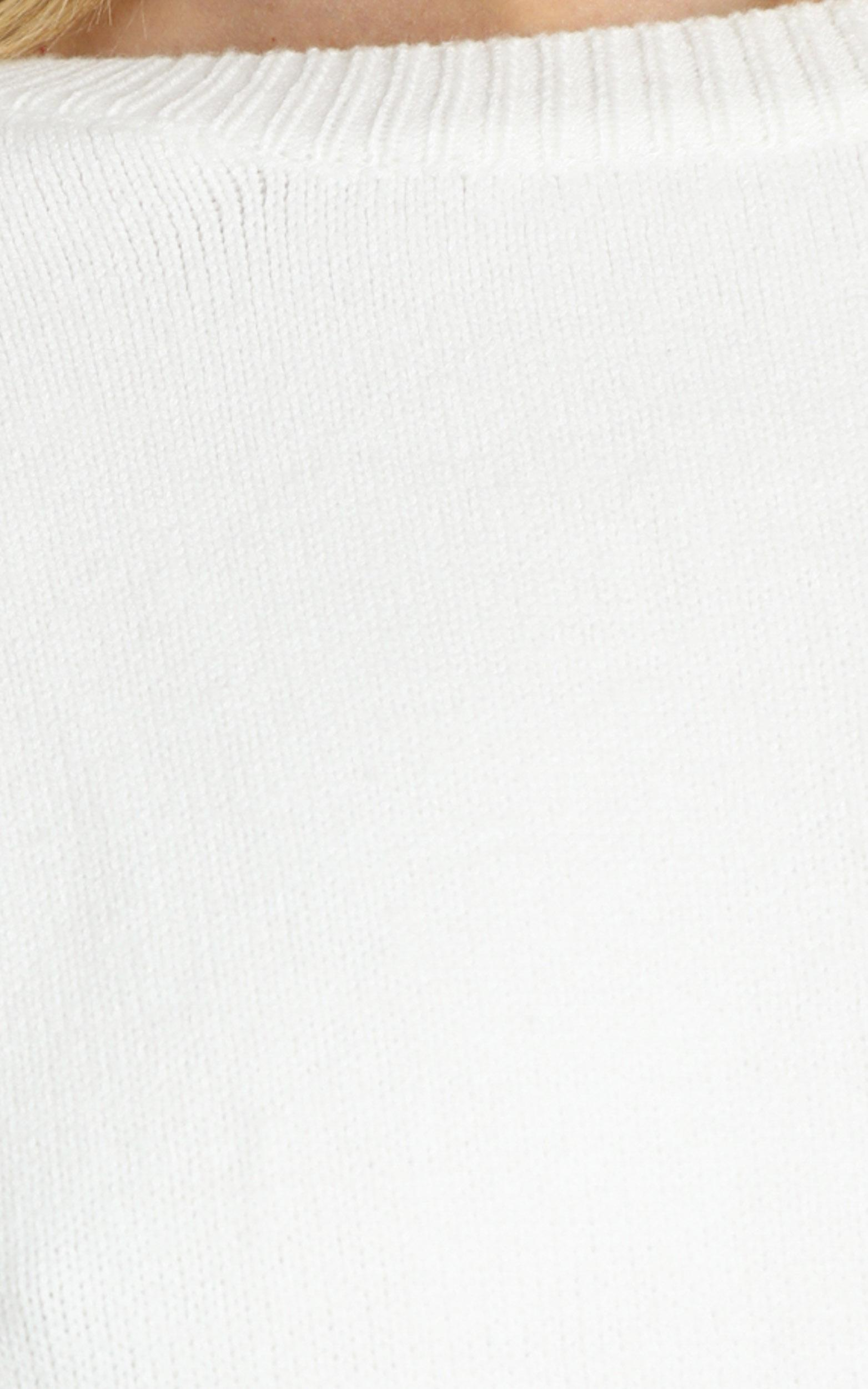 Arcadia Knit in White - L, WHT1, hi-res image number null