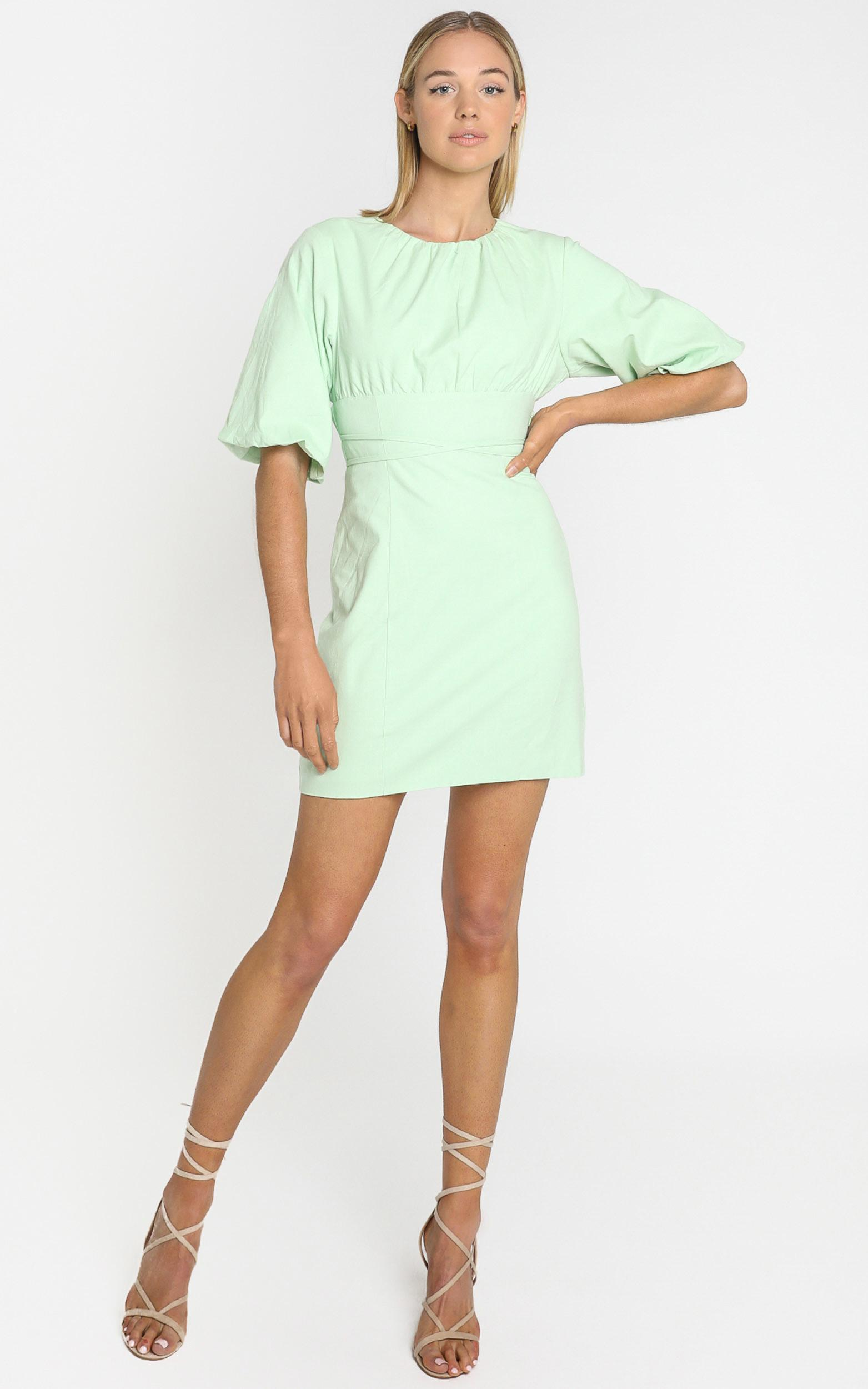 Daydreaming dress in mint - 6 (XS), GRN1, hi-res image number null