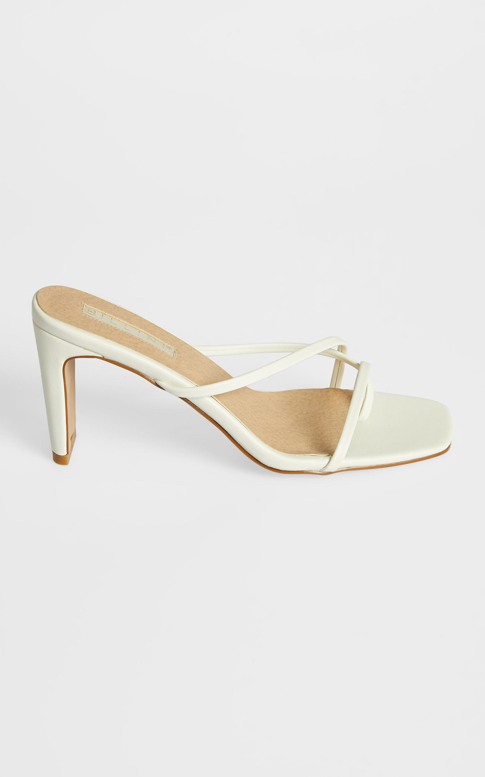 Billini - Story Heels in White - 5, White, hi-res image number null