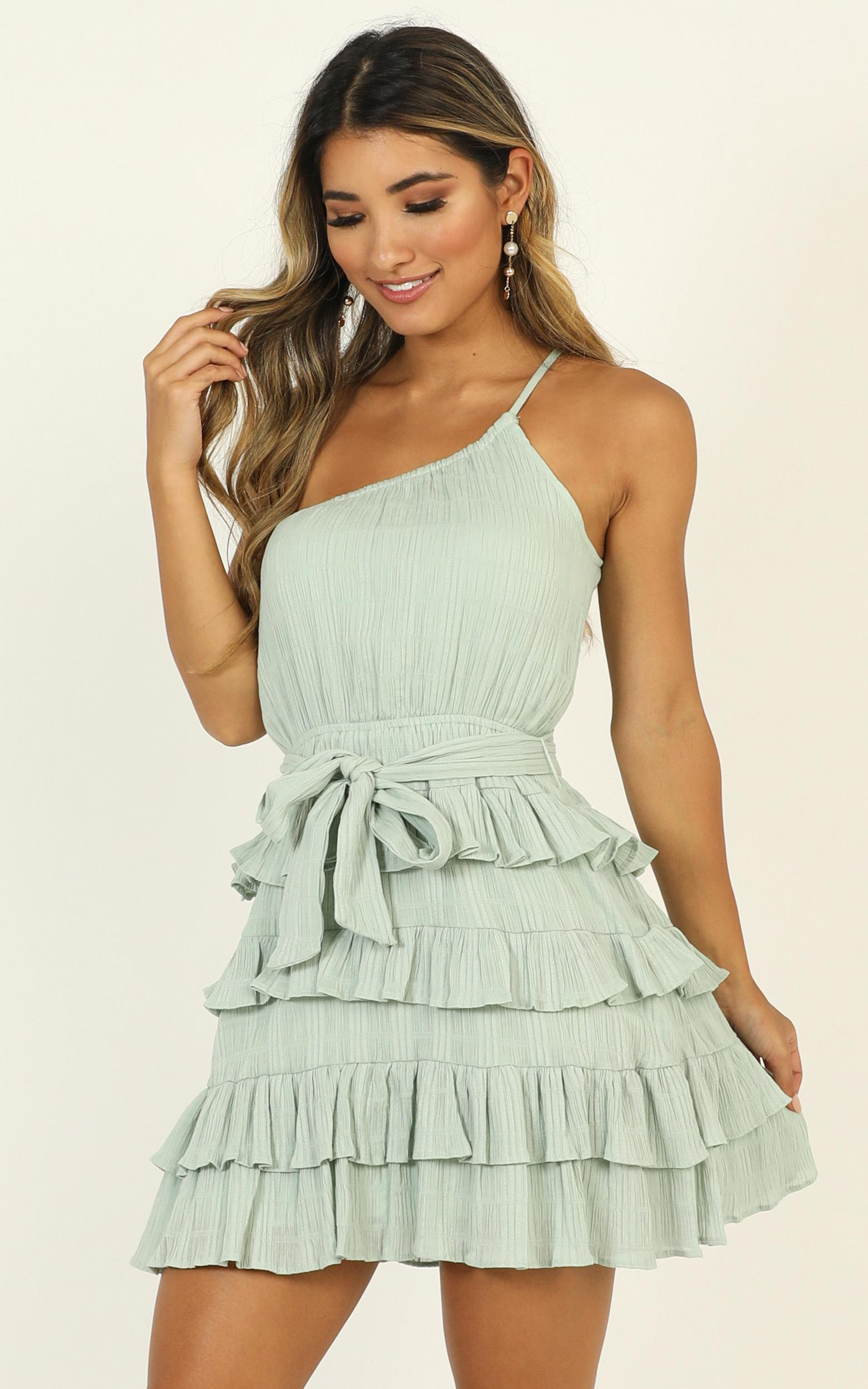 Only Experience dress in sage - 14 (XL), Sage, hi-res image number null