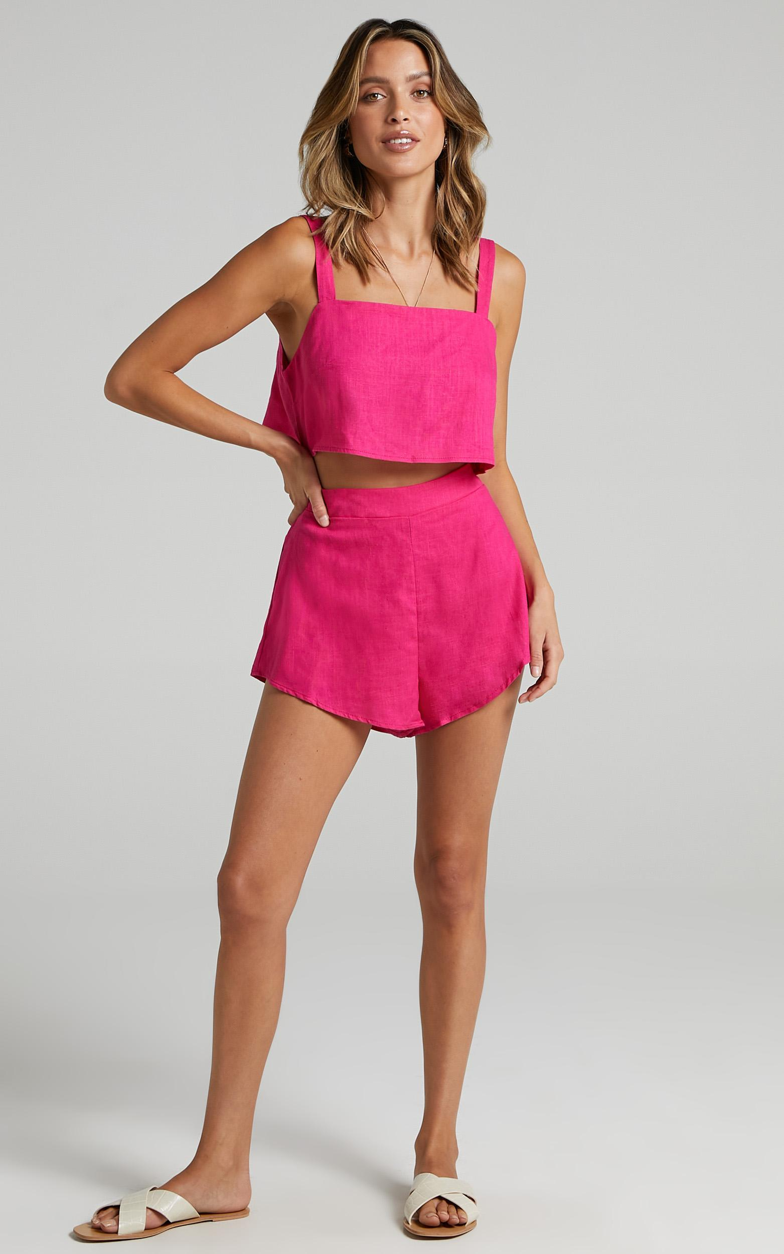 Save The Light Two Piece Set in Hot Pink - 04, PNK1, hi-res image number null