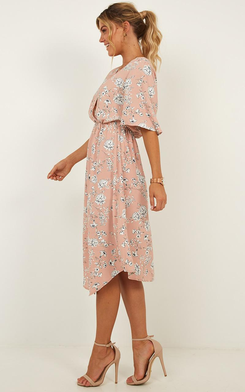 When I Met You Dress in blush floral - 20 (XXXXL), Blush, hi-res image number null
