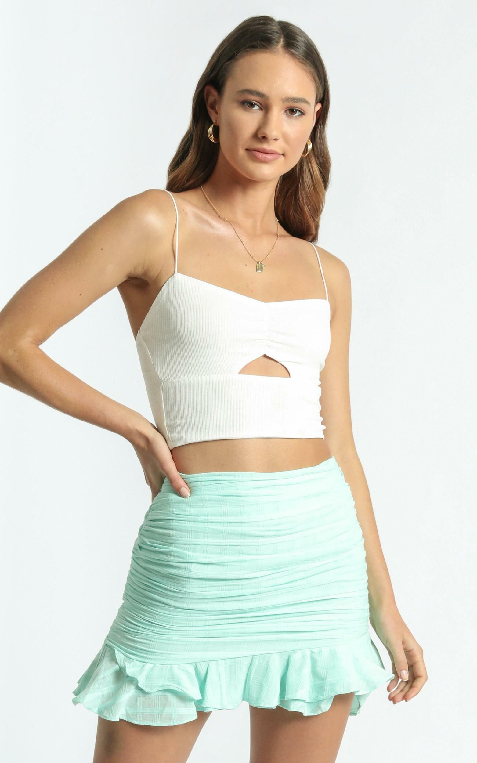 Bene Skirt in Mint - 6 (XS), GRN3, hi-res image number null