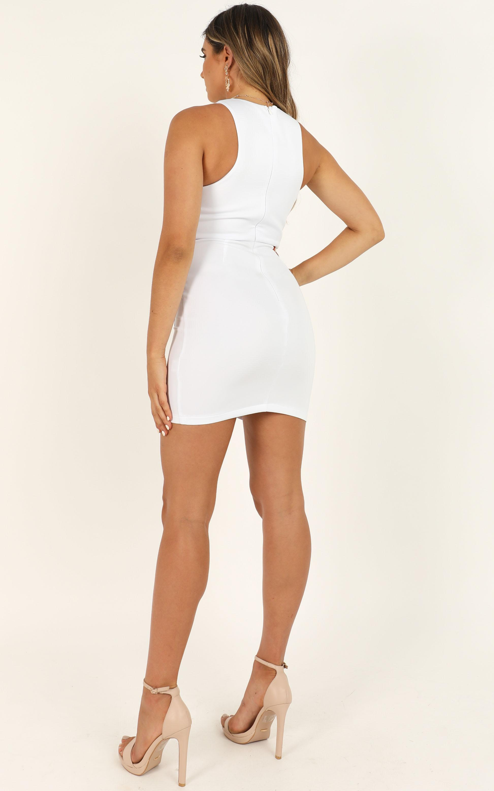 Beauty And A Beat Dress in white - 14 (XL), White, hi-res image number null