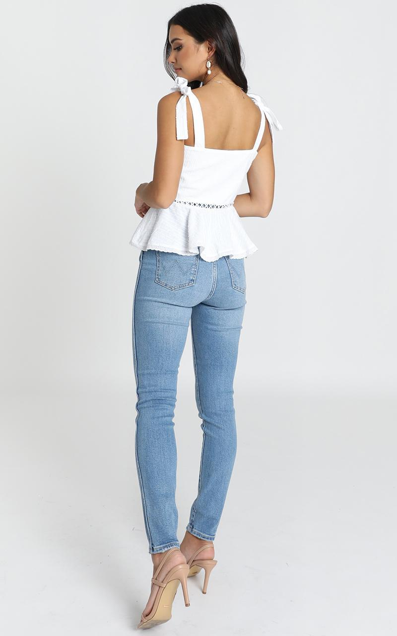 News To Me Top in white - 14 (XL), White, hi-res image number null