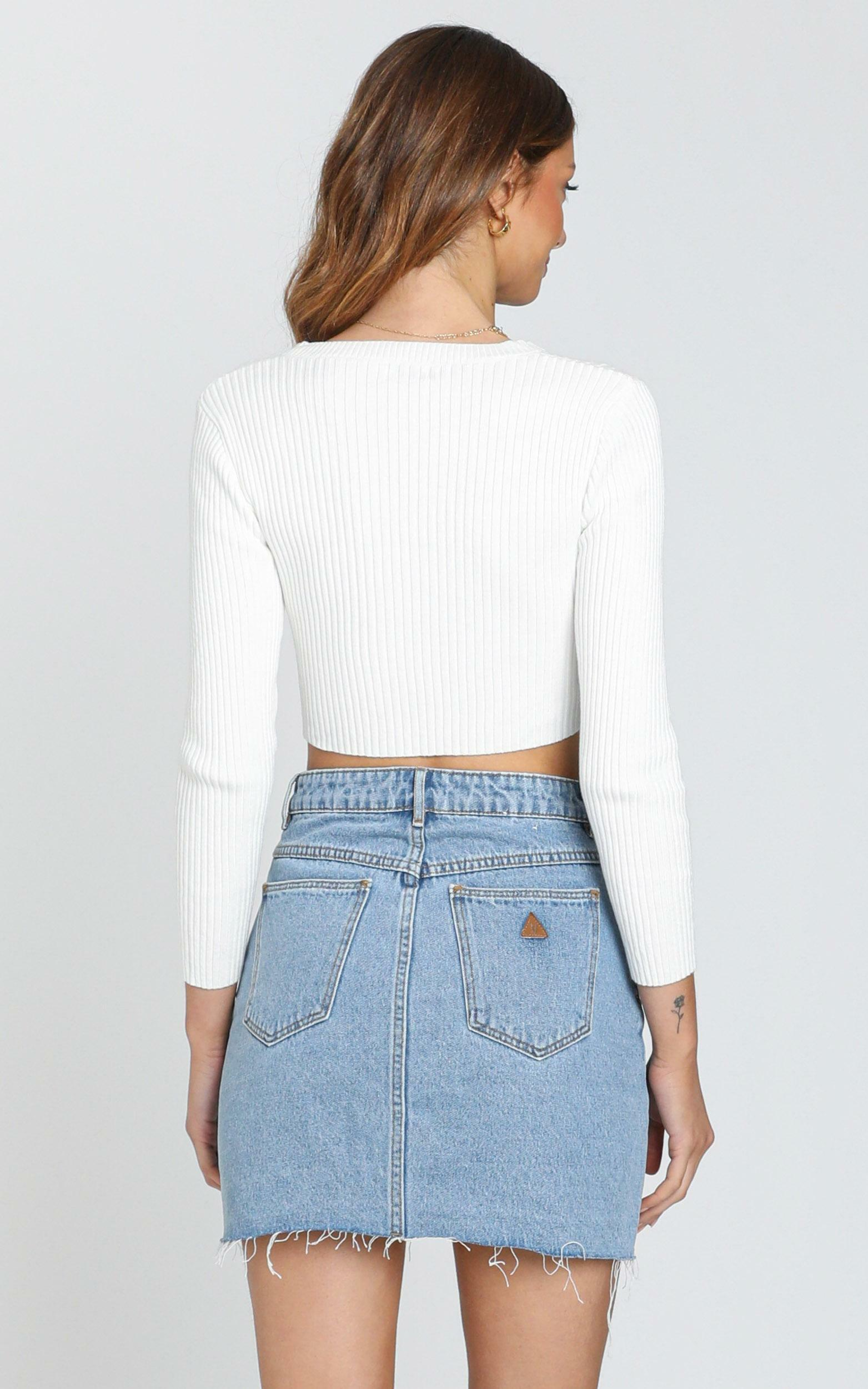 Pernille Top in White - S, White, hi-res image number null