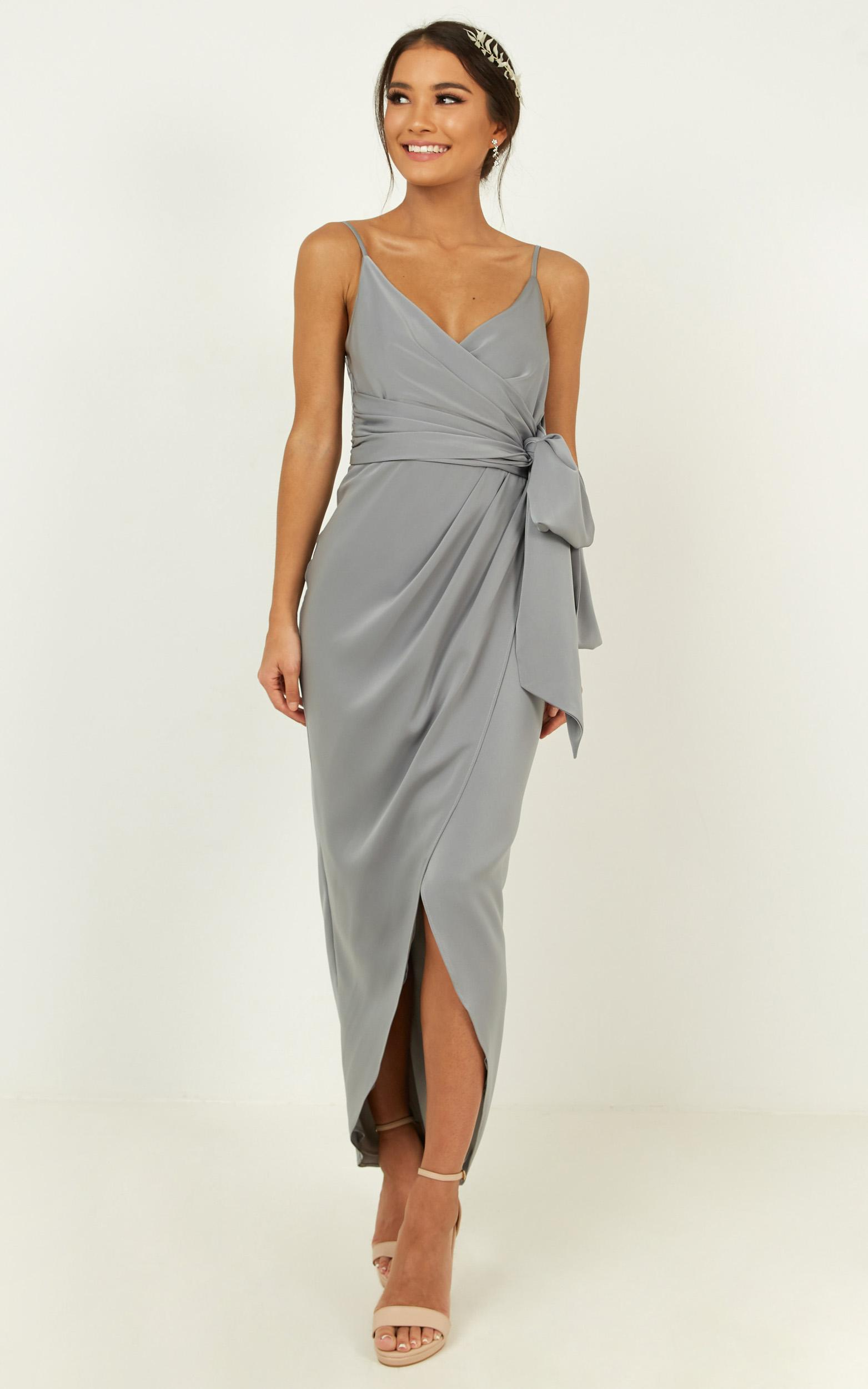How will I know dress in dusty blue - 18 (XXXL), Blue, hi-res image number null