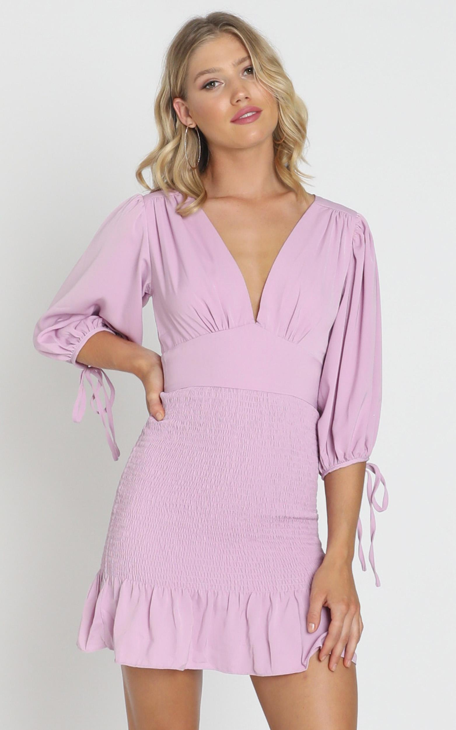 Albany Dress in lavender - 8 (S), Purple, hi-res image number null